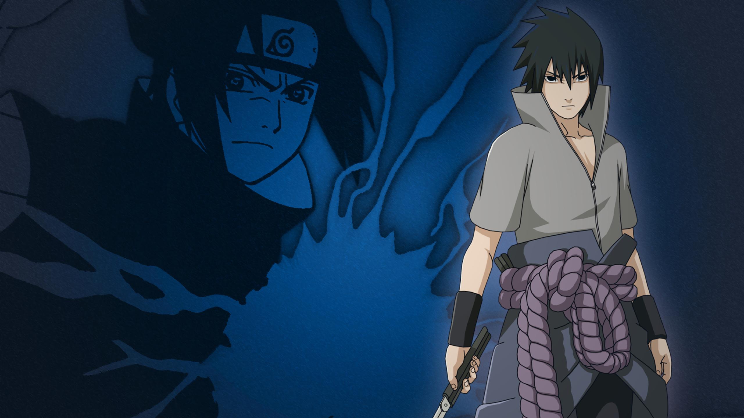 2560x1440 Sasuke Uchiha Naruto Anime 1440p Resolution Wallpaper