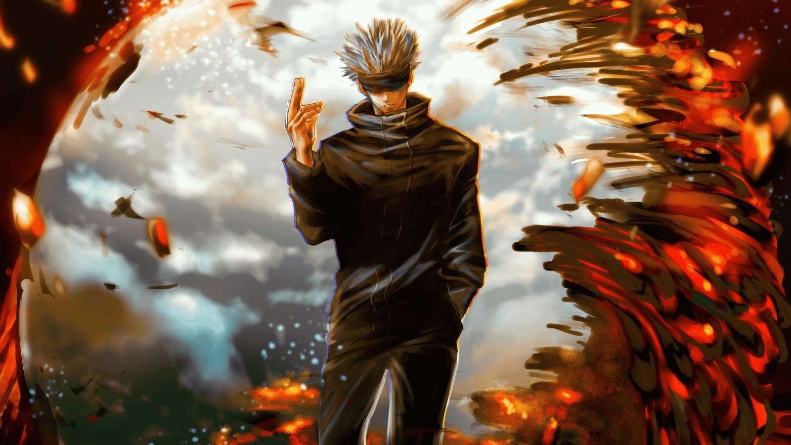 1600x900 Satoru Gojo Jujutsu Kaisen 1600x900 Resolution Wallpaper, HD Anime 4K Wallpapers ...