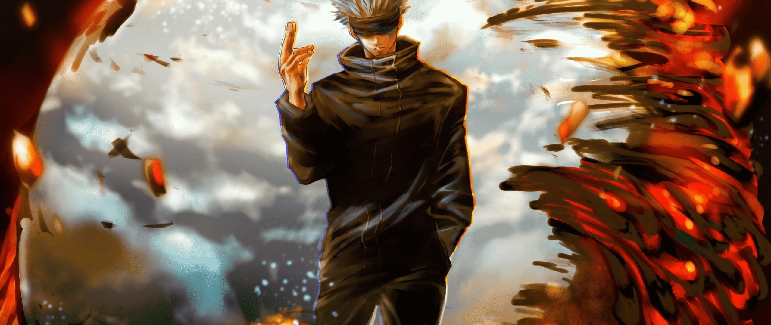 2560x1080 Satoru Gojo Jujutsu Kaisen 2560x1080 Resolution Wallpaper Hd Anime 4k Wallpapers Images Photos And Background Wallpapers Den