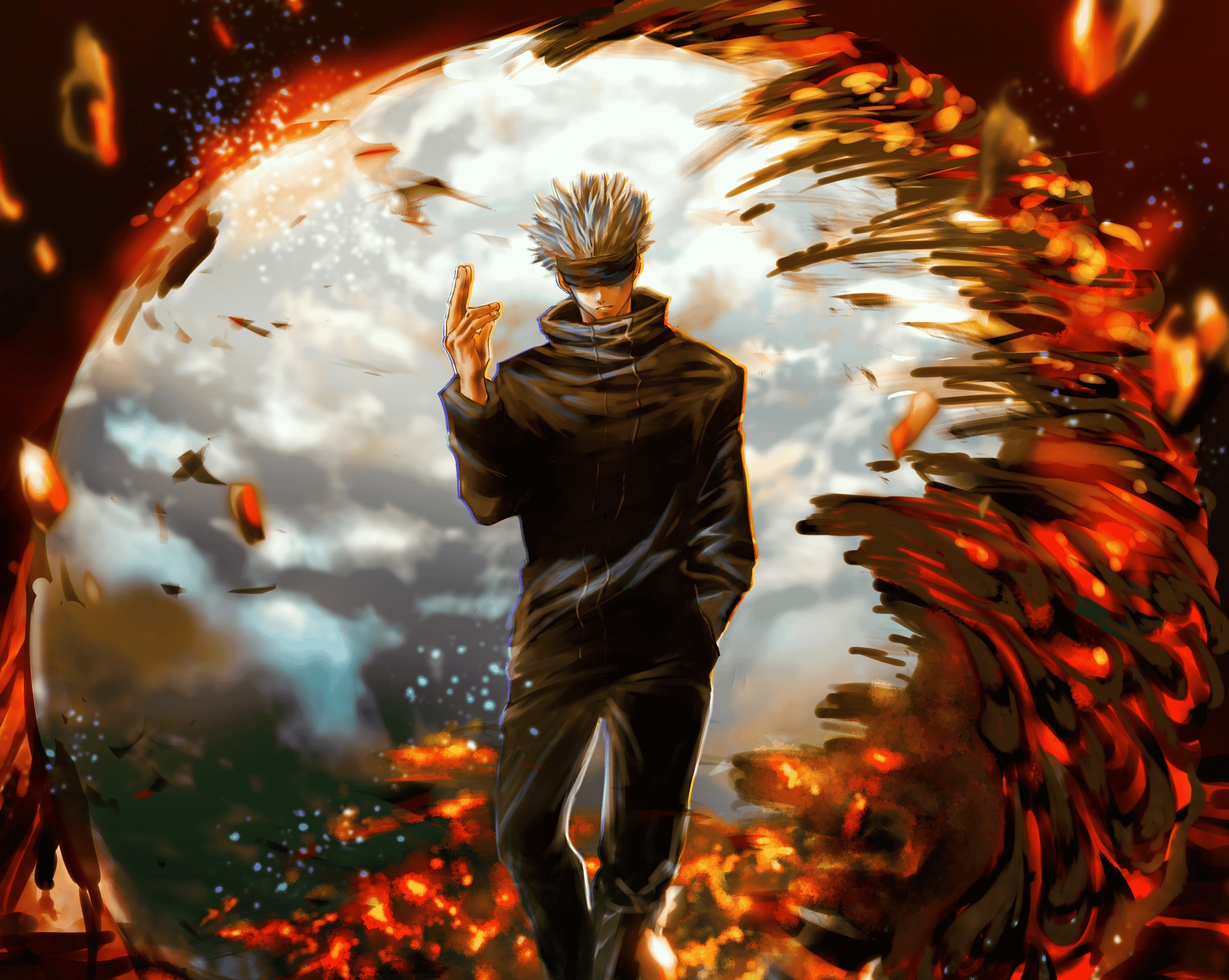 2560x1440 Satoru Gojo Jujutsu Kaisen 1440p Resolution Wallpaper Hd Anime 4k Wallpapers Images Photos And Background