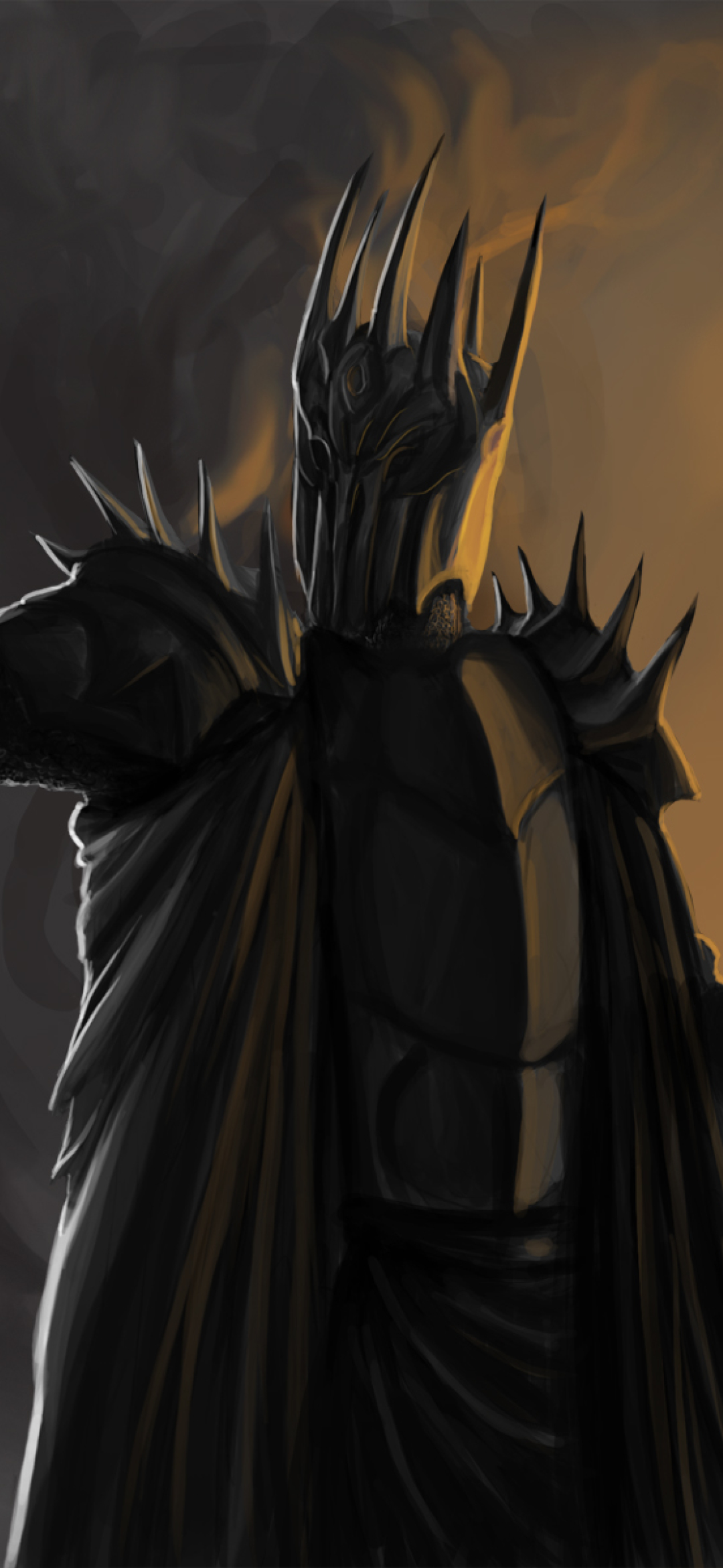 1080x2340 Sauron Lord Of The Rings 1080x2340 Resolution Wallpaper