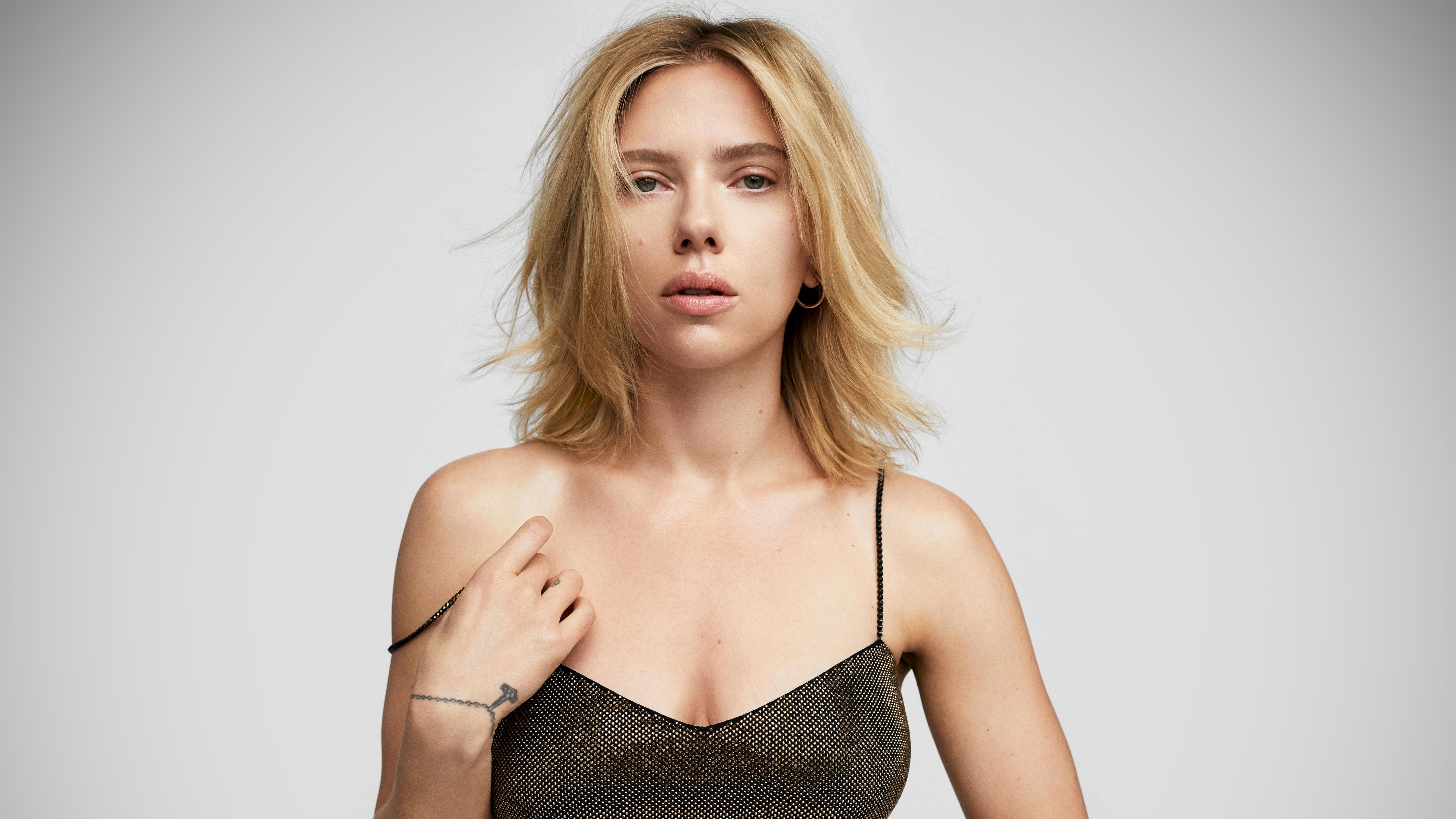 5120x2880 Scarlett Johansson 2020 5k Wallpaper Hd