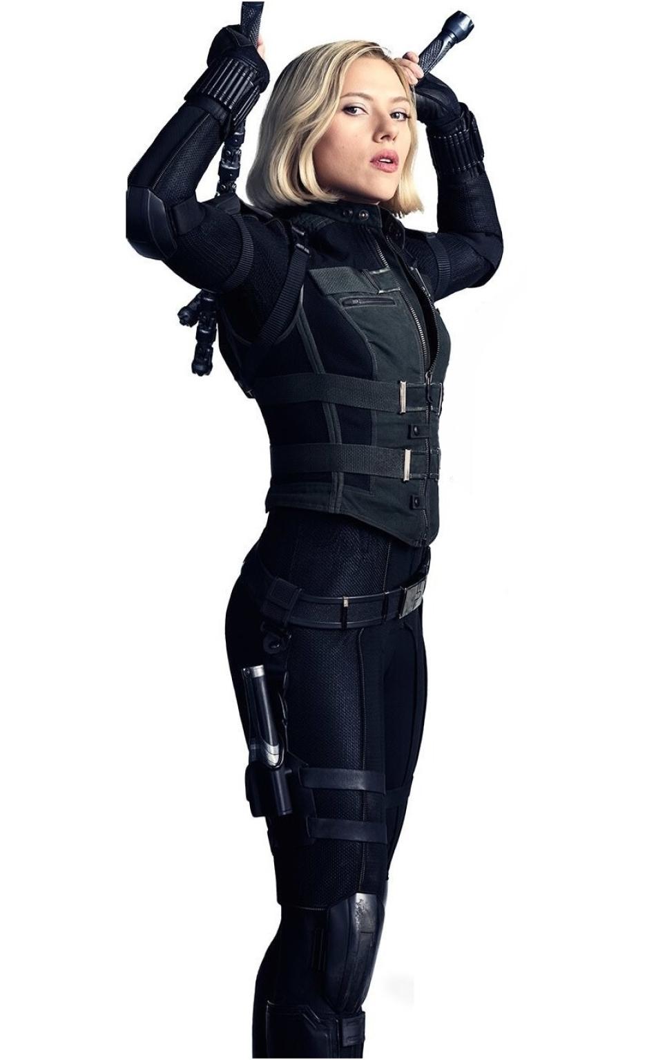 scarlett johansson as black widow in avengers full hd 2k