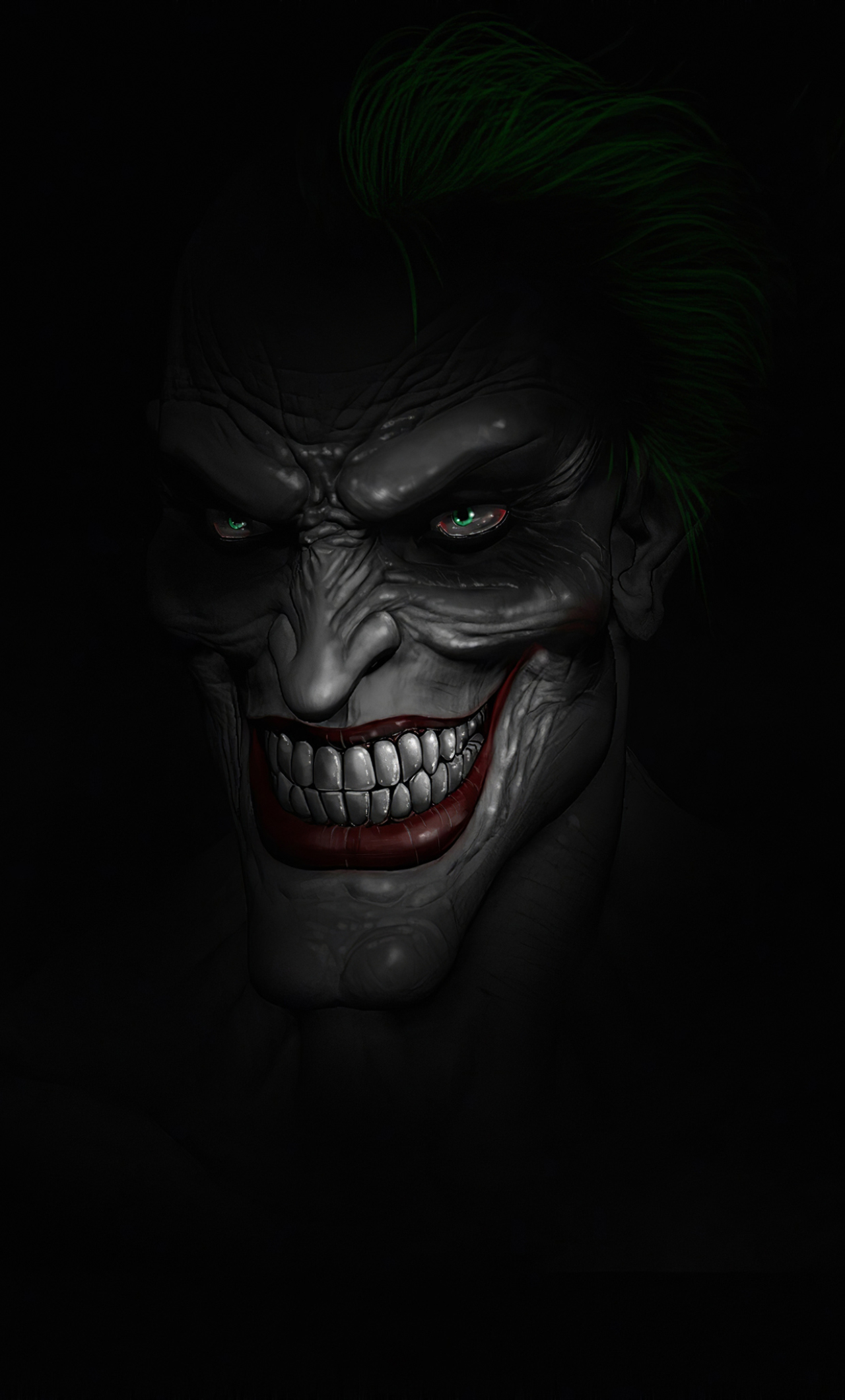 1280x2120 Scary Joker Minimal 4K iPhone 6 plus Wallpaper ...