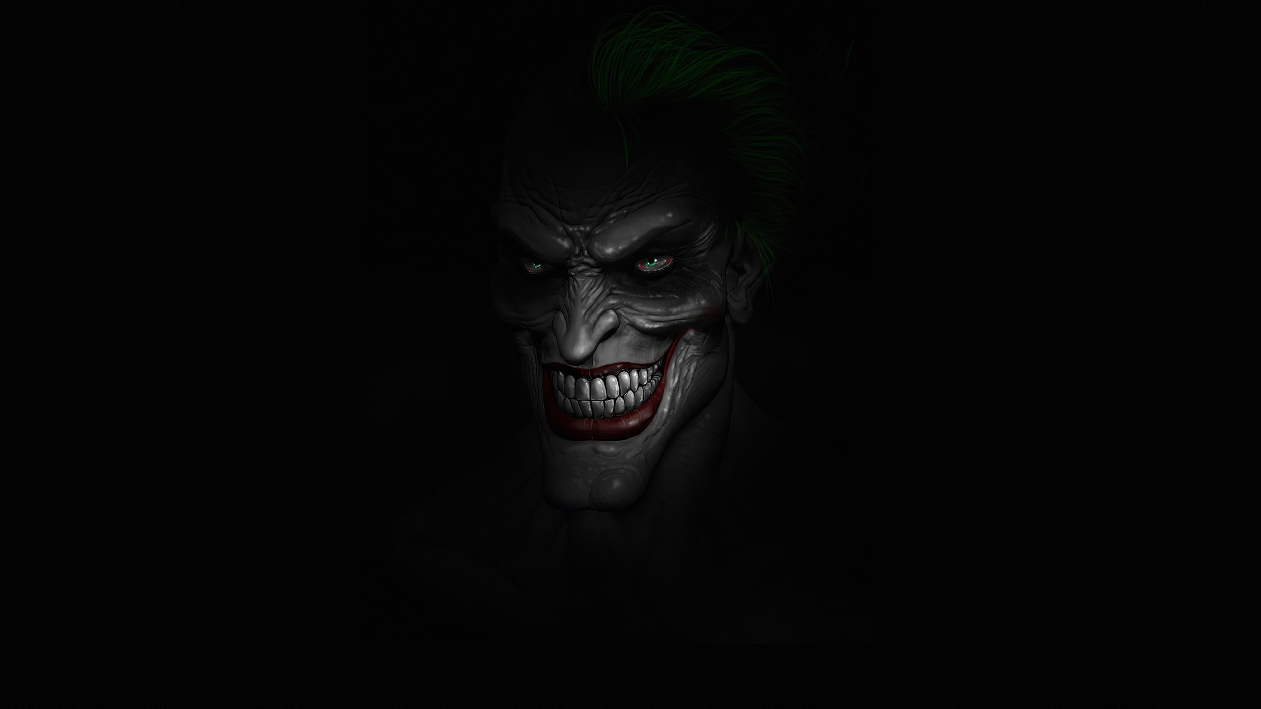 2560x1440 Scary Joker Minimal 4K 1440P Resolution ...