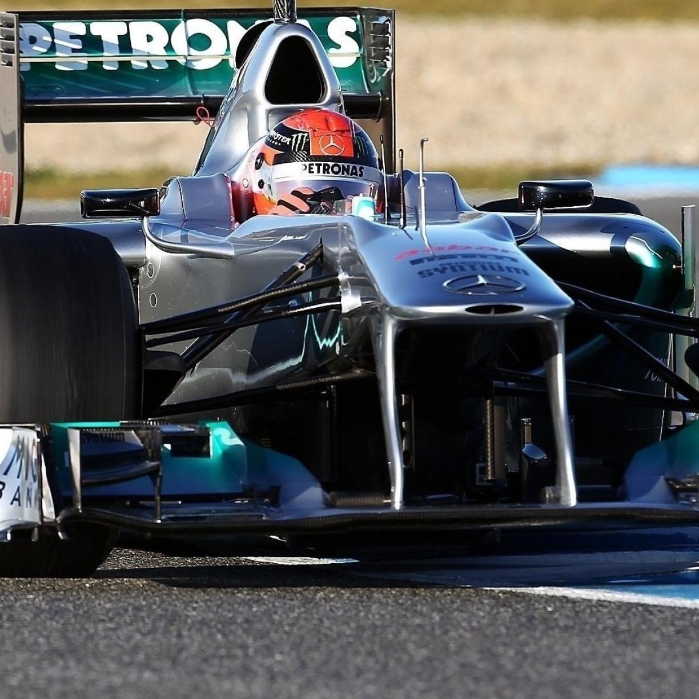 Schumacher, Mercedes, F1, Full HD Wallpaper