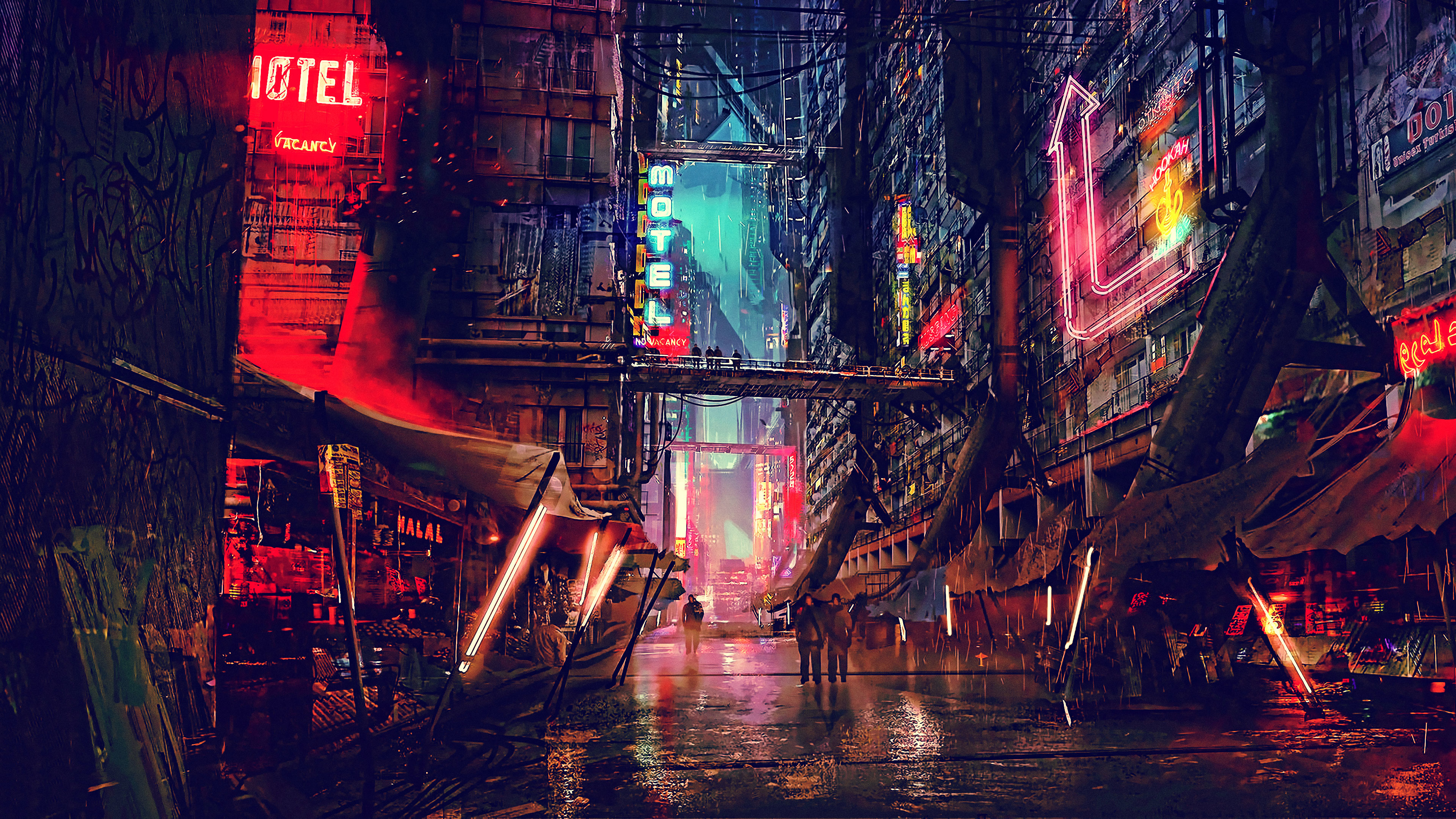 320x480 Sci Fi Cyberpunk City Apple Iphone Ipod Touch Galaxy Ace Wallpaper Hd Fantasy 4k Wallpapers Images Photos And Background