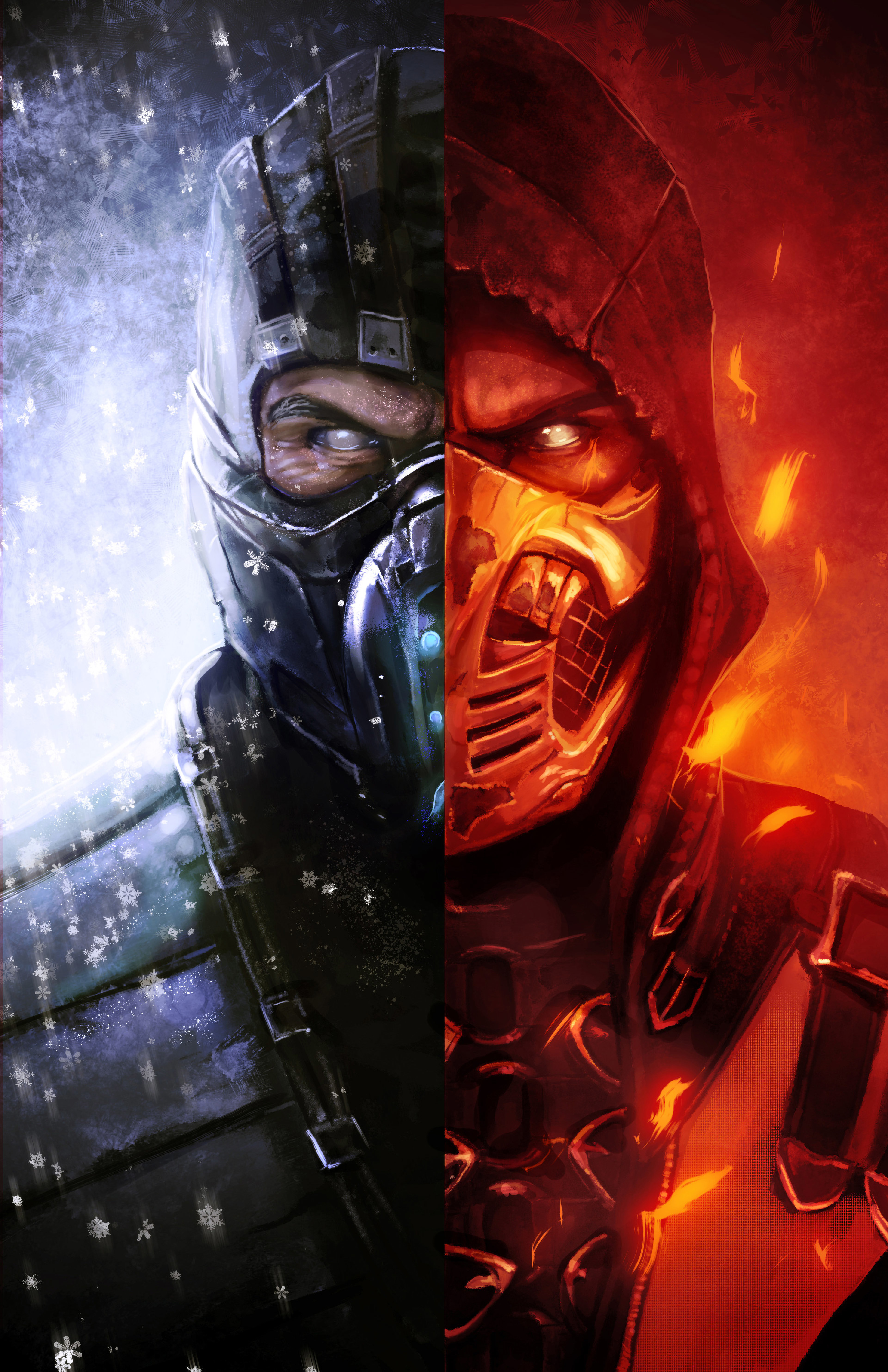 Artistic Pictures of Scorpion from Mortal Kombat - HD