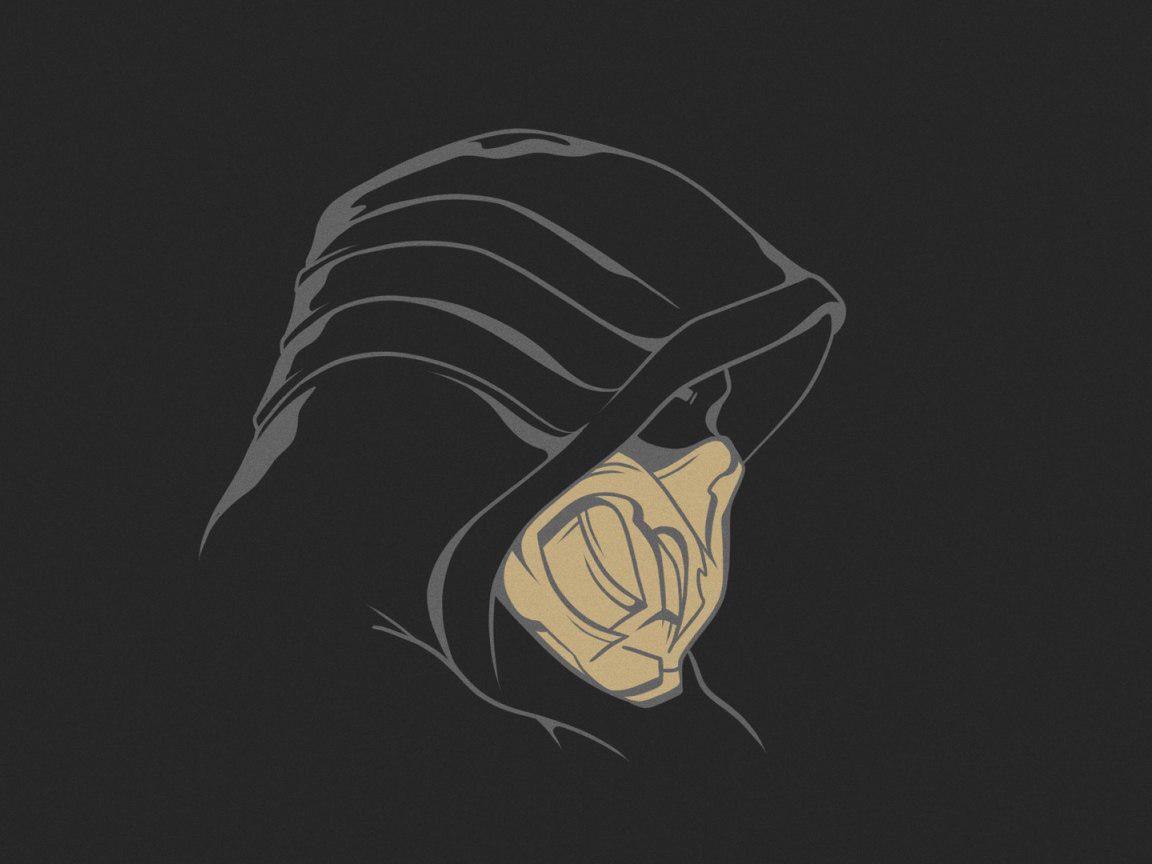 1152x864 Scorpion Mortal Kombat 1152x864 Resolution