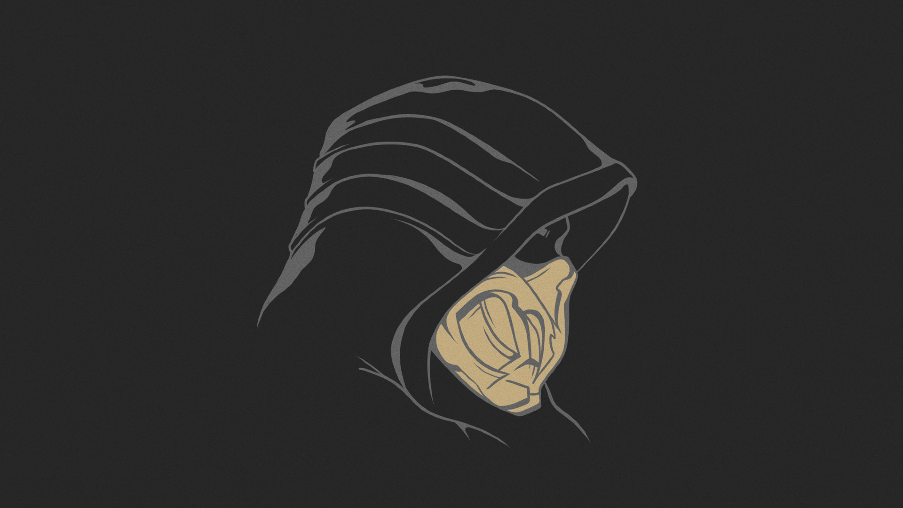 3840x2160 Scorpion Mortal Kombat 4k Wallpaper Hd Minimalist 4k Wallpapers Images Photos And Background