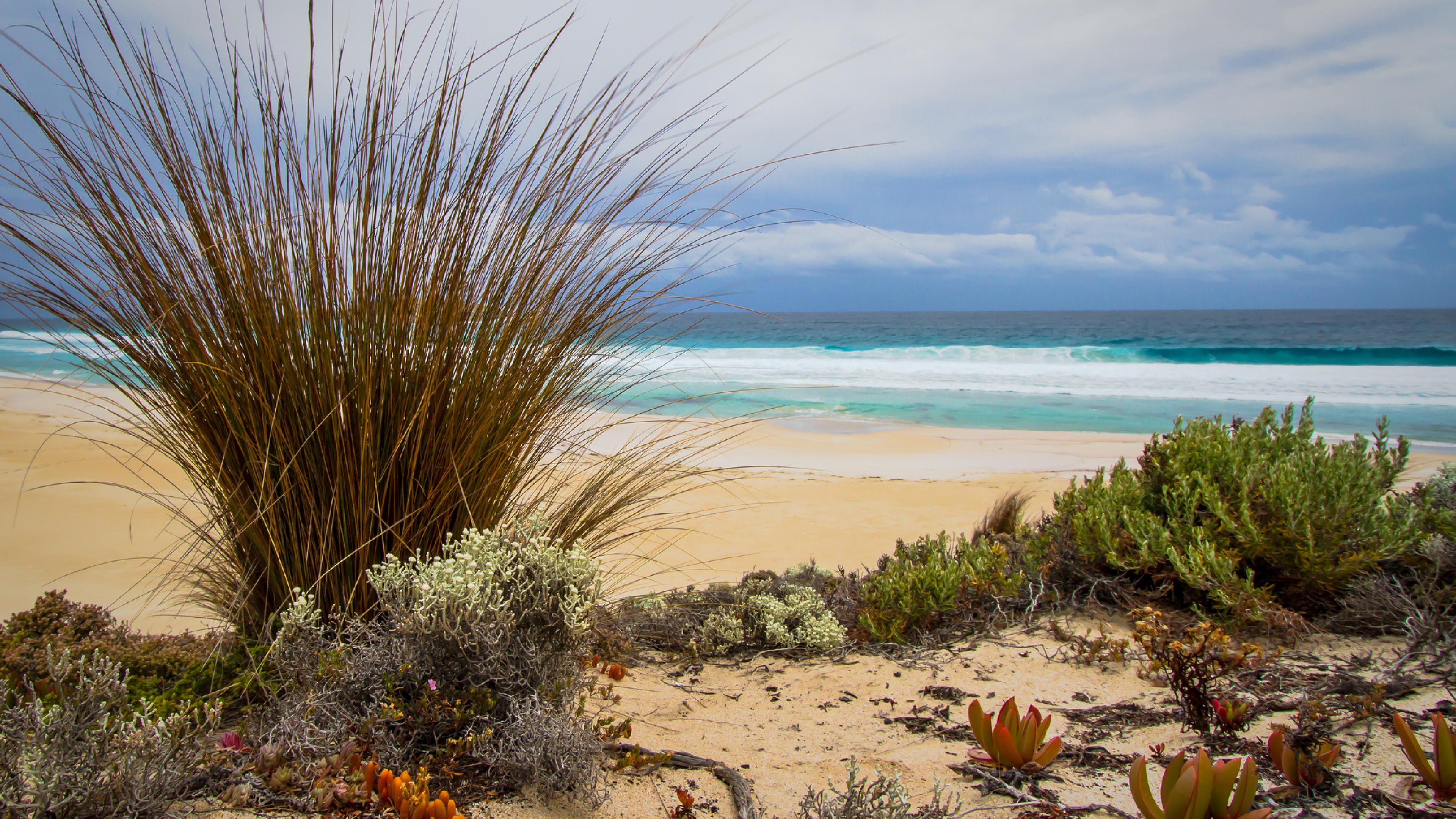 3840x2160 Sea Sand Beach 4k Wallpaper Hd Nature 4k Wallpapers
