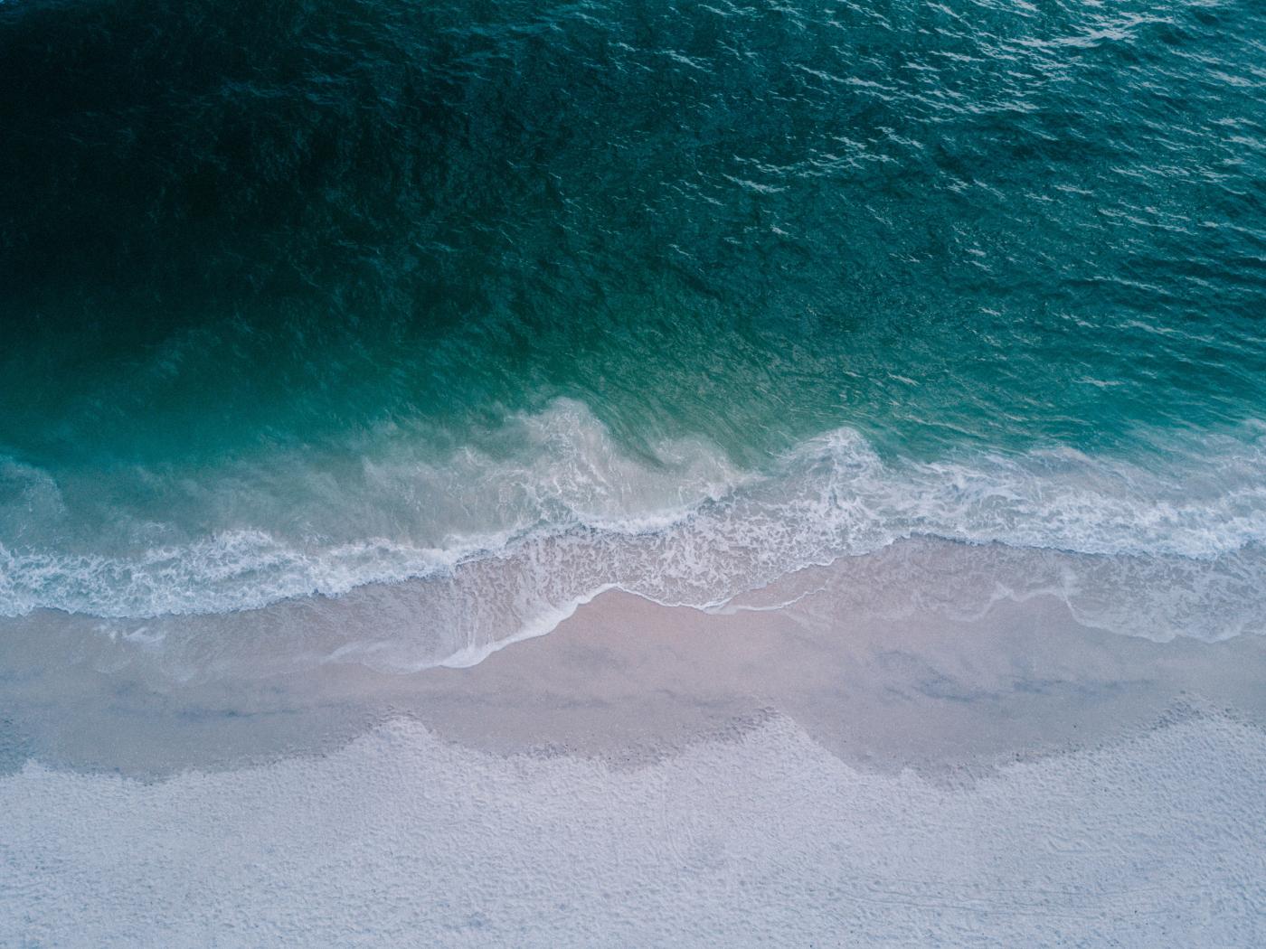 Seashore Top View Beach, HD 4K Wallpaper