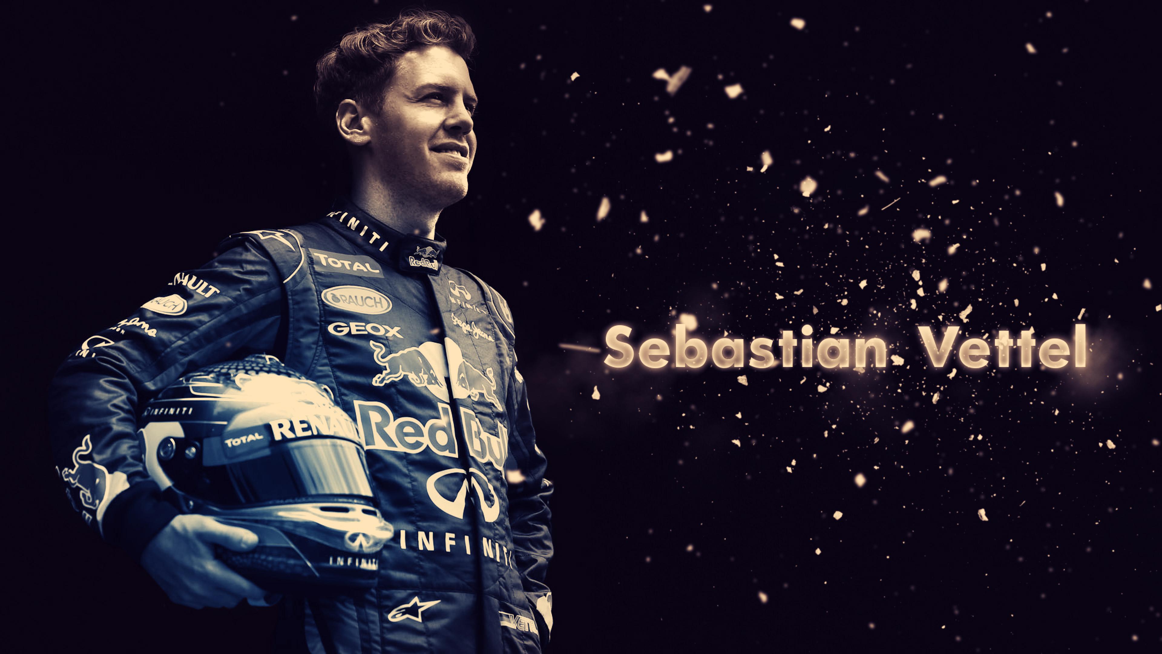 3840x2160 Sebastian Vettel Racer Red Bull 4k Wallpaper Hd