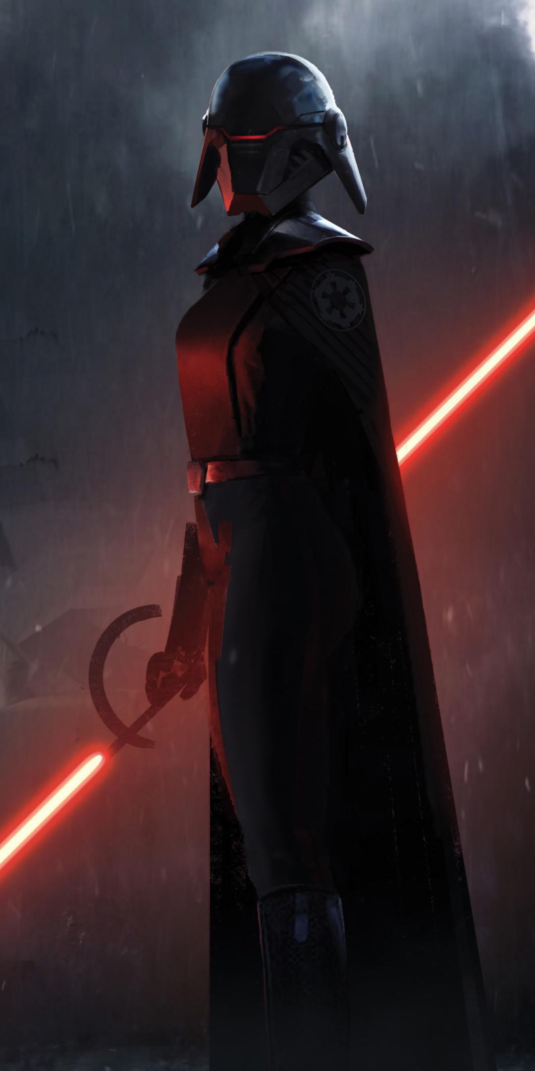 1080x2160 Second Sister Star Wars Jedi Fallen Order One ...