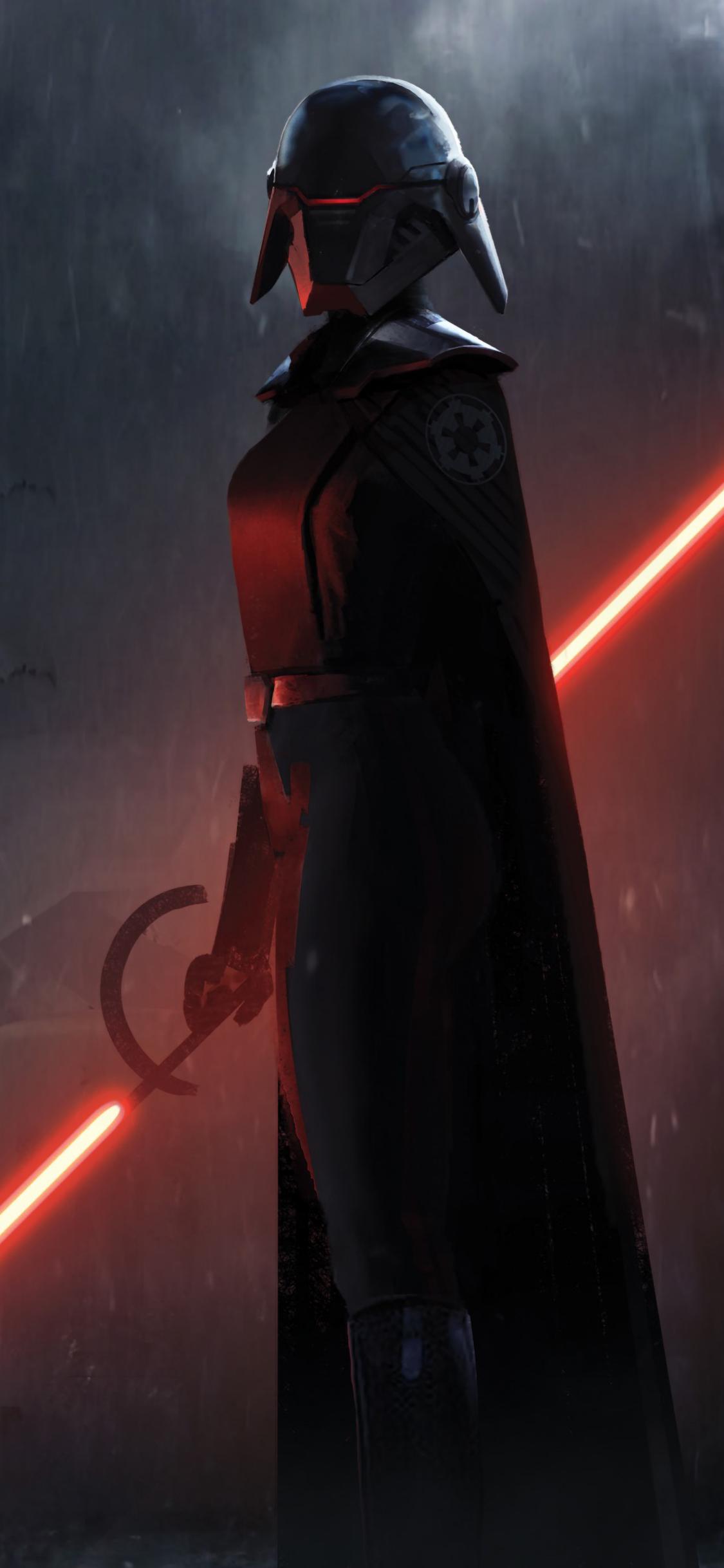1125x2436 Second Sister Star Wars Jedi Fallen Order Iphone ...