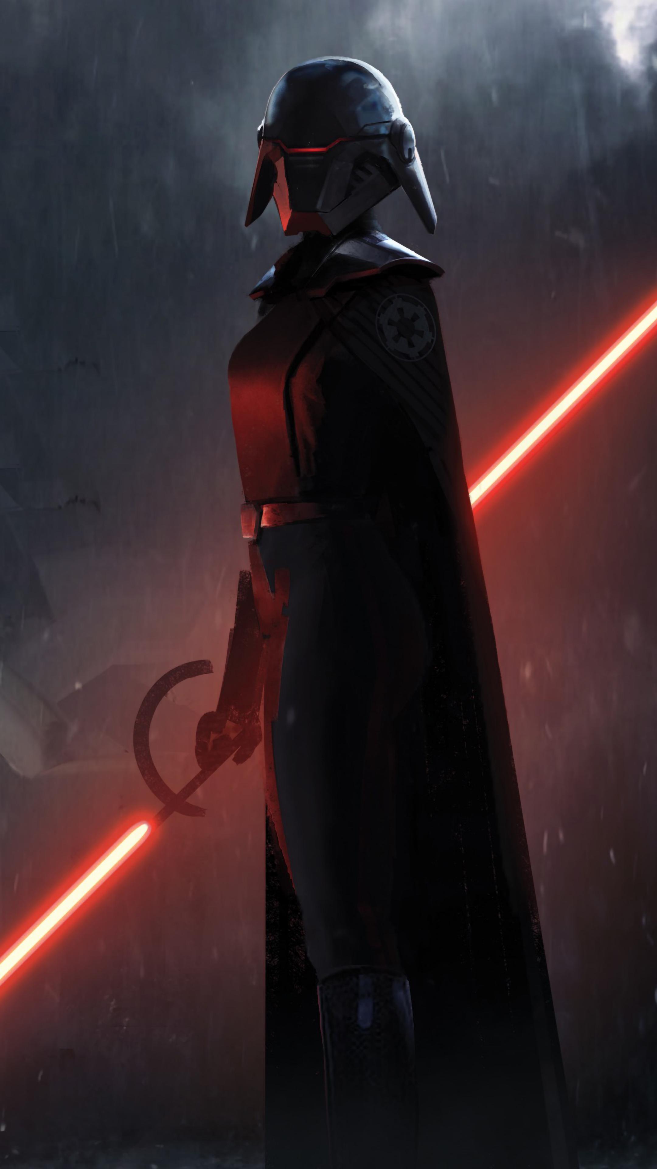 2160x3840 Second Sister Star Wars Jedi Fallen Order Sony ...