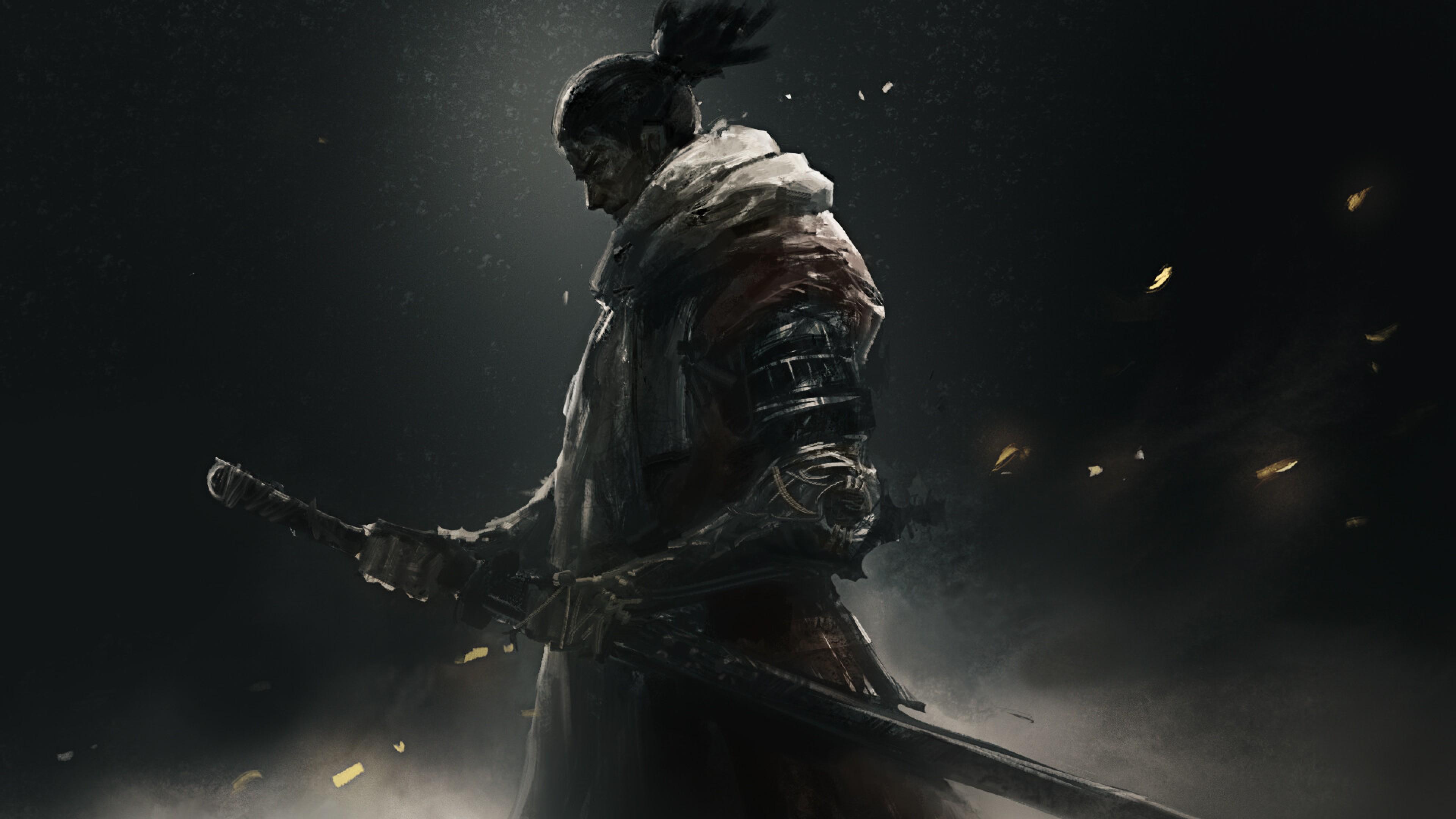 3840x2160 Sekiro Shadows Die Twice Warrior 4k Wallpaper Hd Games