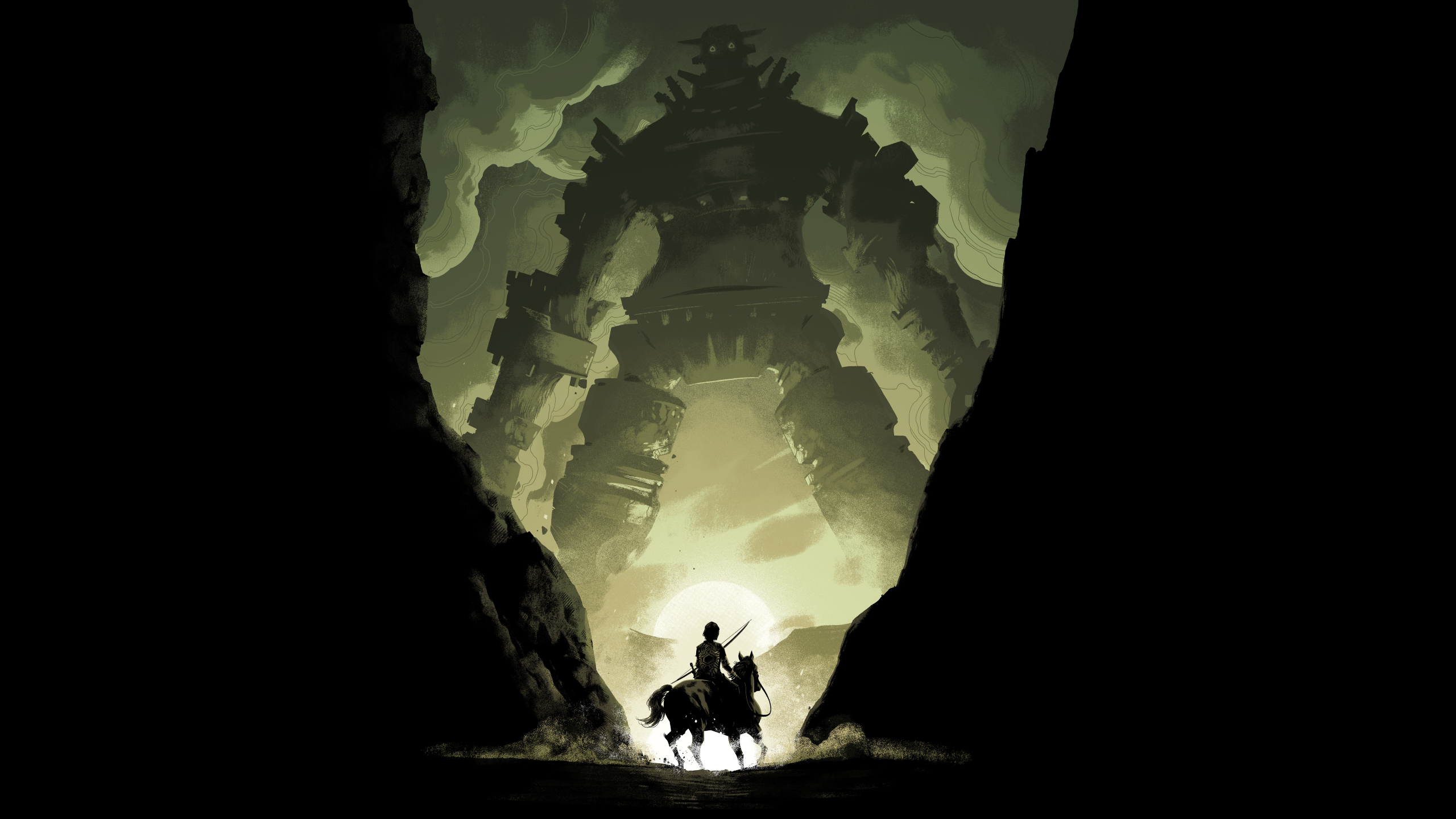 2560x1440 Shadow Of The Colossus Video Game 1440p Resolution