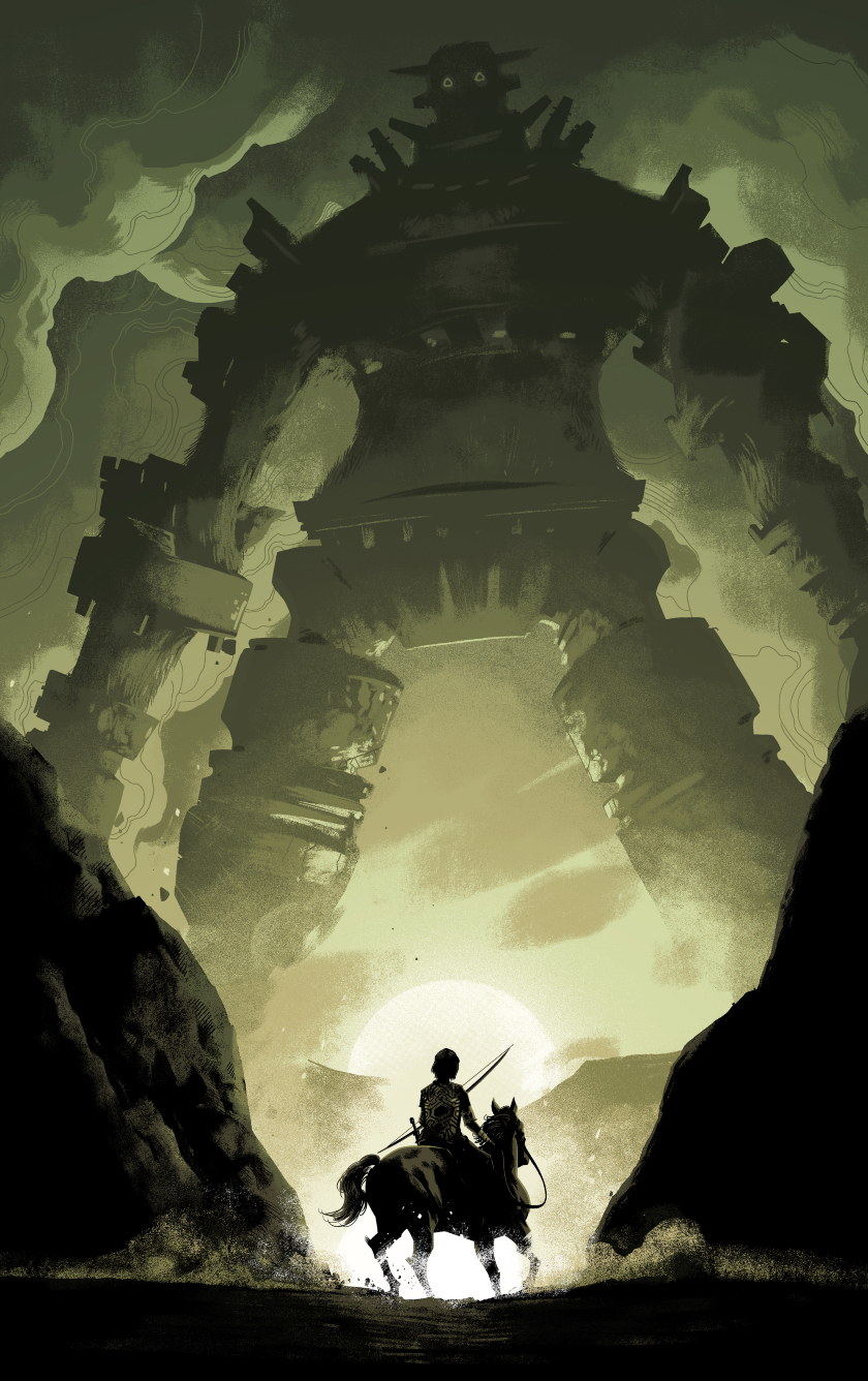 Shadow of the colossus video game hd 8k wallpaper - Shadow of the colossus iphone wallpaper ...