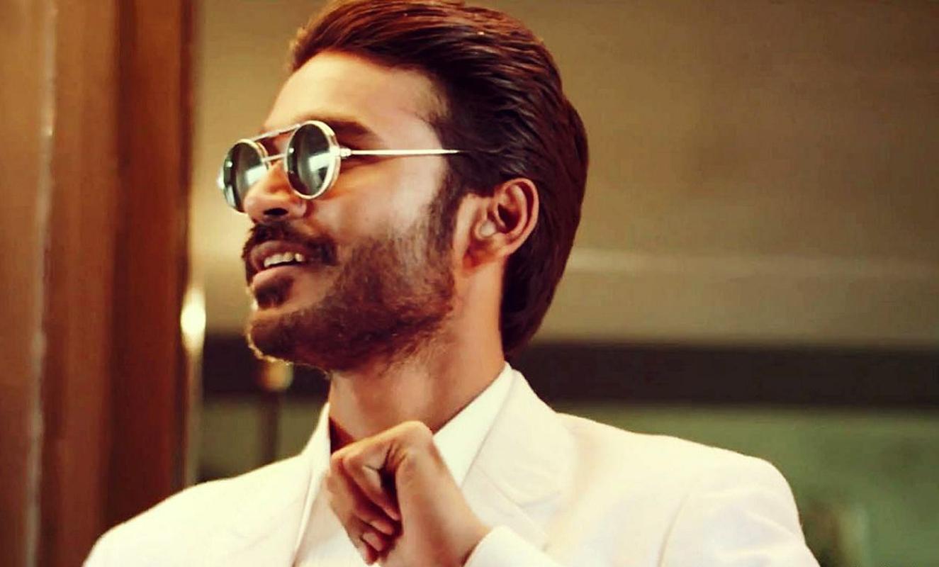download shamitabh movie actor dhanush goggles photoshoot 2160x3840
