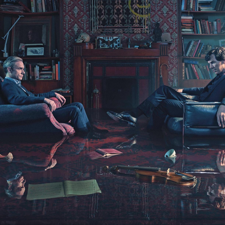 Sherlock Tv Show Still, HD 4K Wallpaper