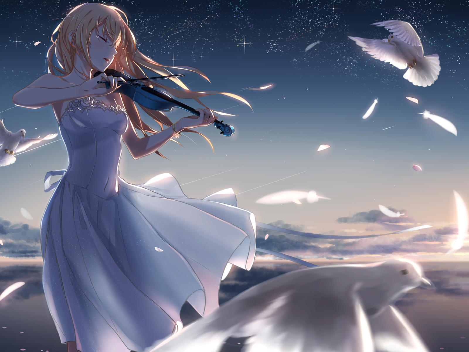27 Wallpaper Hd Anime Shigatsu Wa Kimi No Uso Anime Top Wallpaper