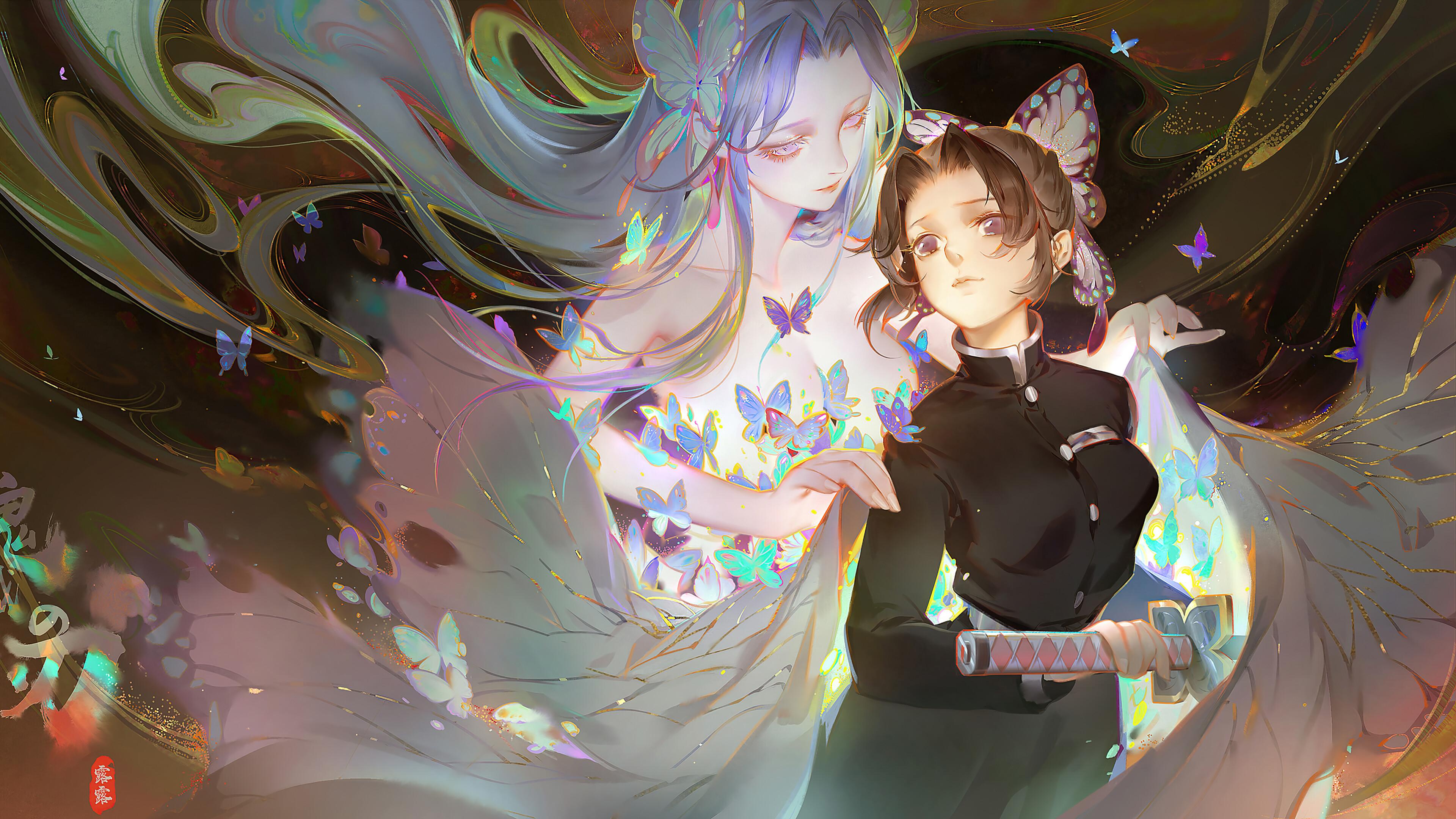 Shinobu Kocho Kimetsu no Yaiba Wallpaper, HD Anime 4K Wallpapers, Images, Photos and Background