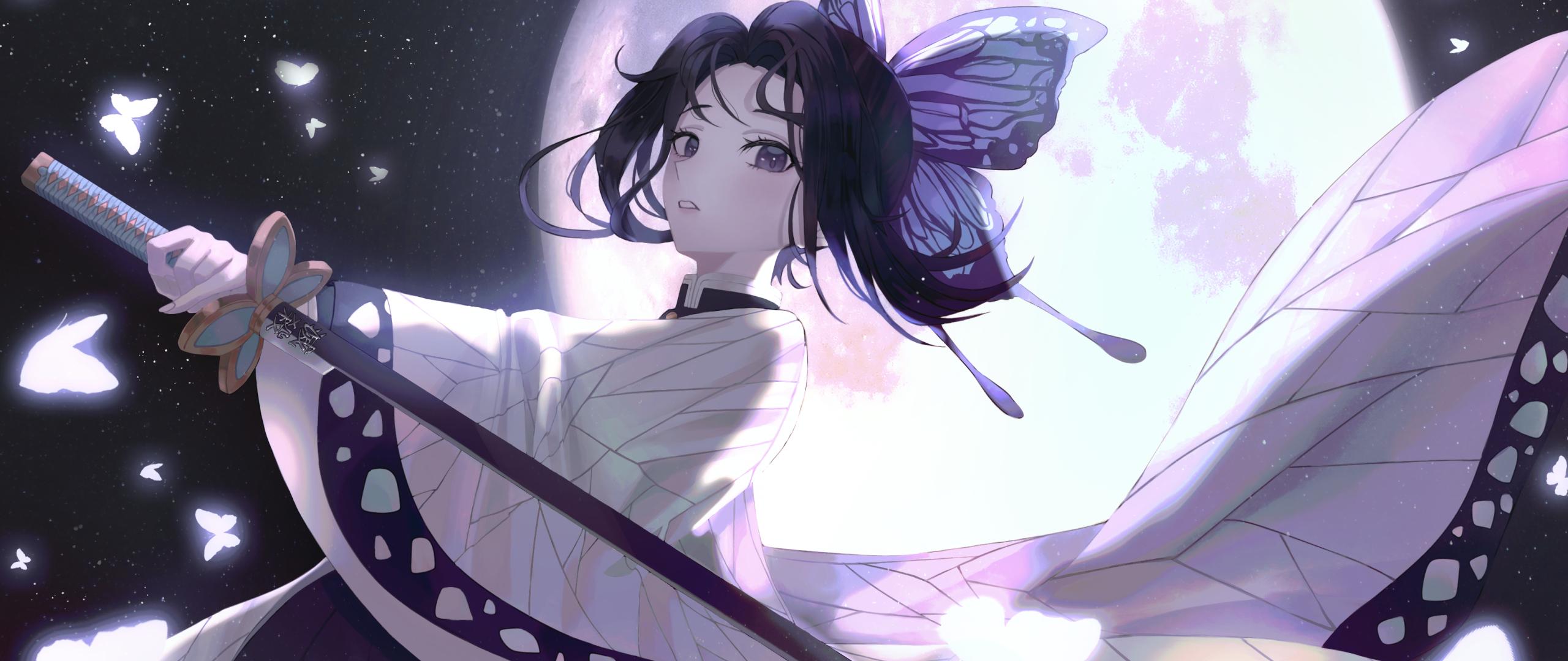 2560x1080 Shinobu Kochou Anime 4K 2560x1080 Resolution ...