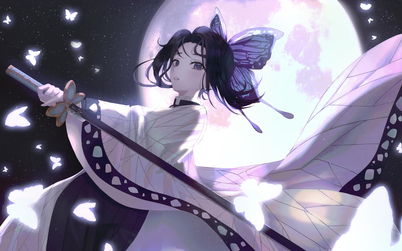 15x15 Shinobu Kochou Anime 15K Macbook Pro Retina Wallpaper, HD ...
