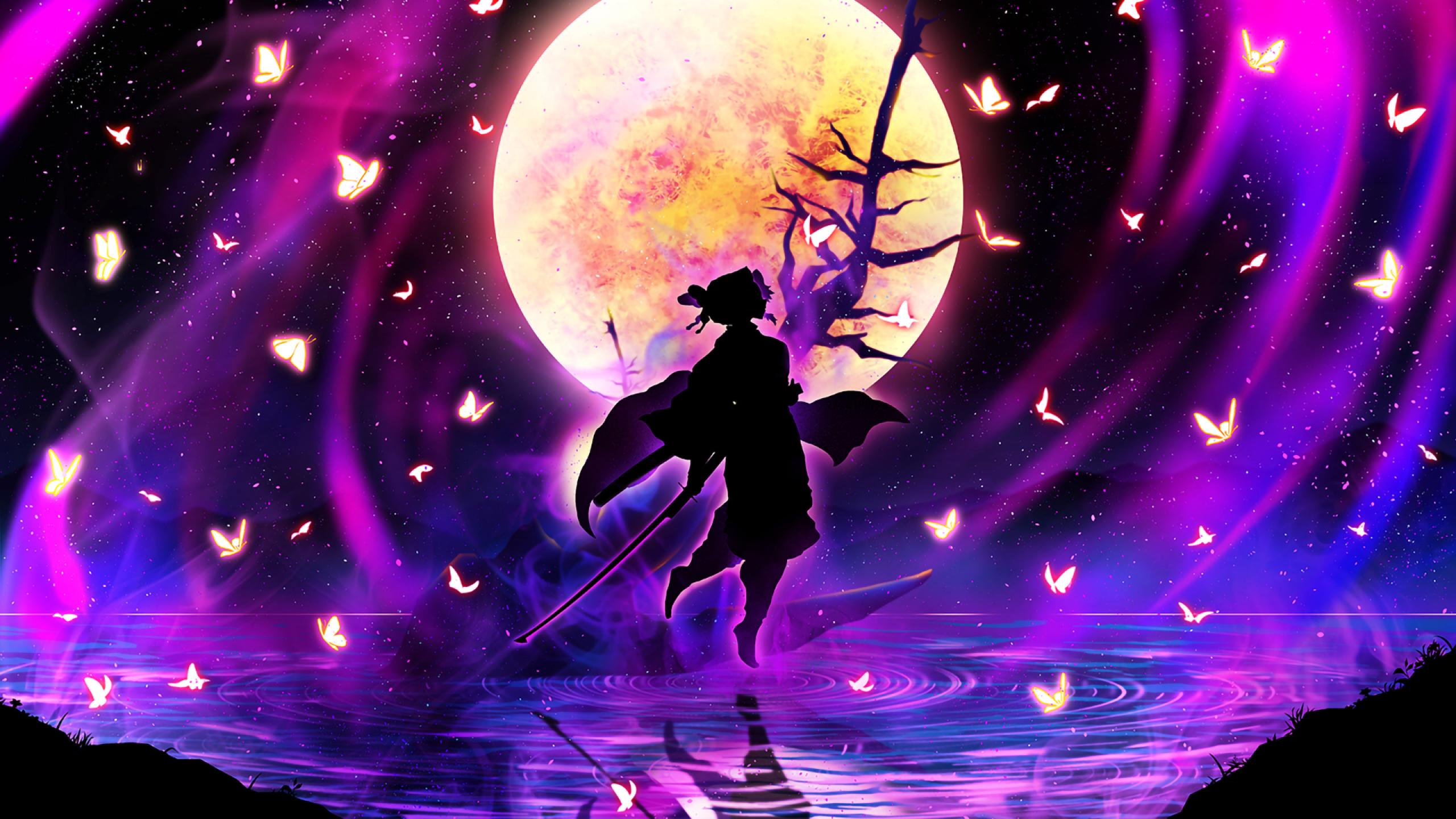 2560x1440 Shinobu Kochou Kimetsu No Yaiba 1440p Resolution Wallpaper Hd Anime 4k Wallpapers Images Photos And Background
