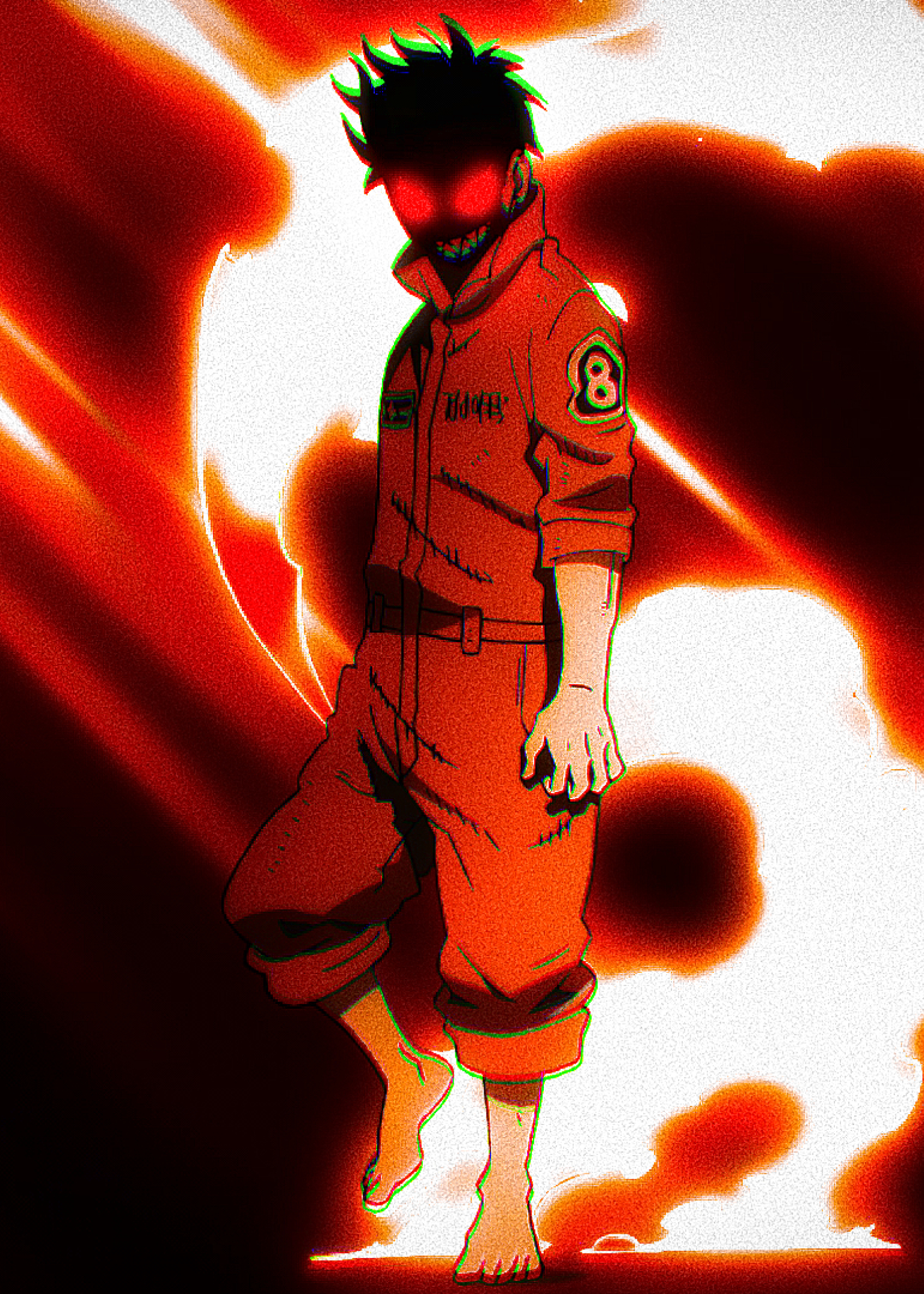 1536x2152 Shinra Kusakabe Fire Force 1536x2152 Resolution ...