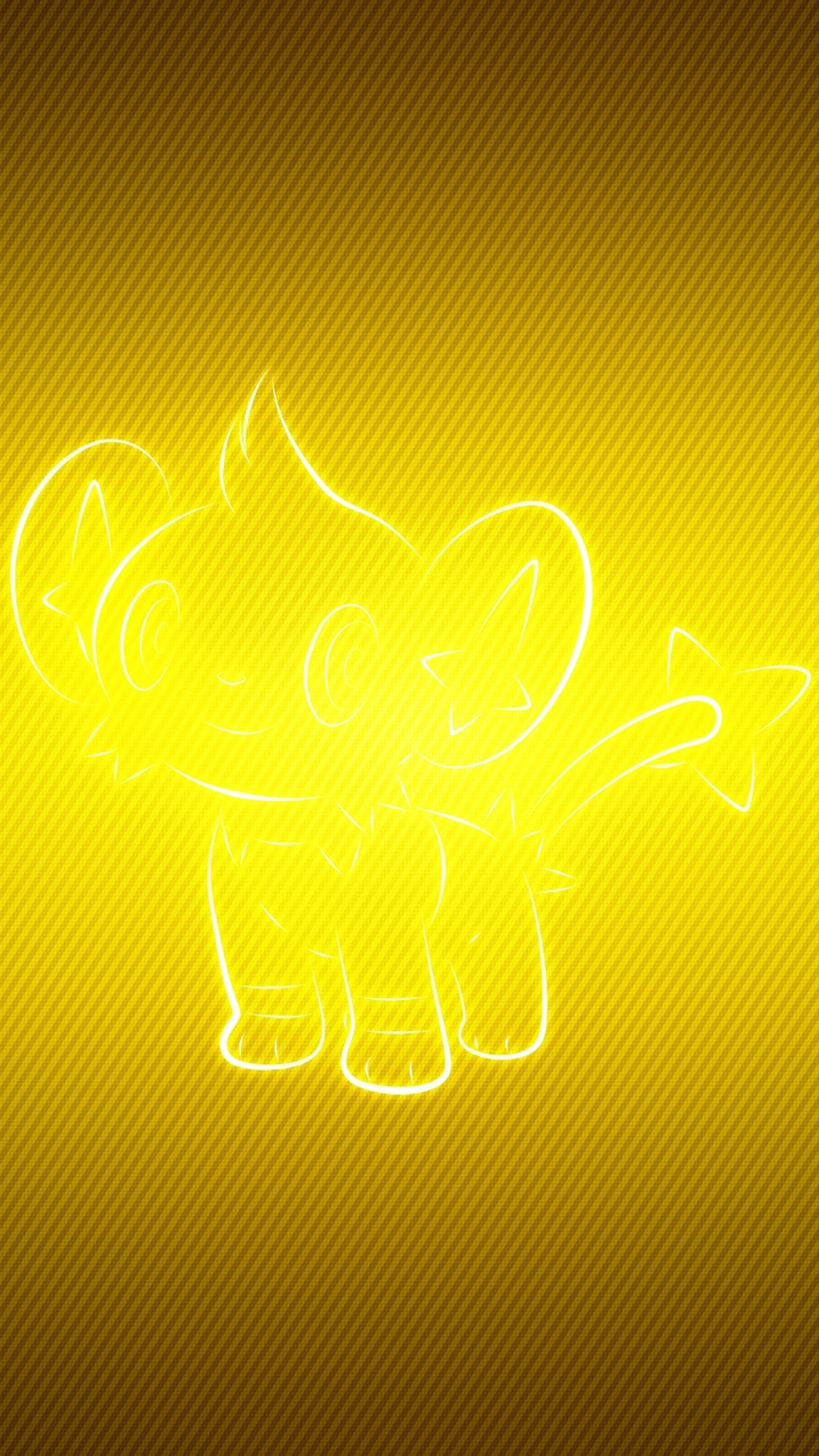2160x3840 Shinx Pokemon Yellow Sony Xperia X Xz Z5 Premium Wallpaper Hd Vector 4k Wallpapers Images Photos And Background