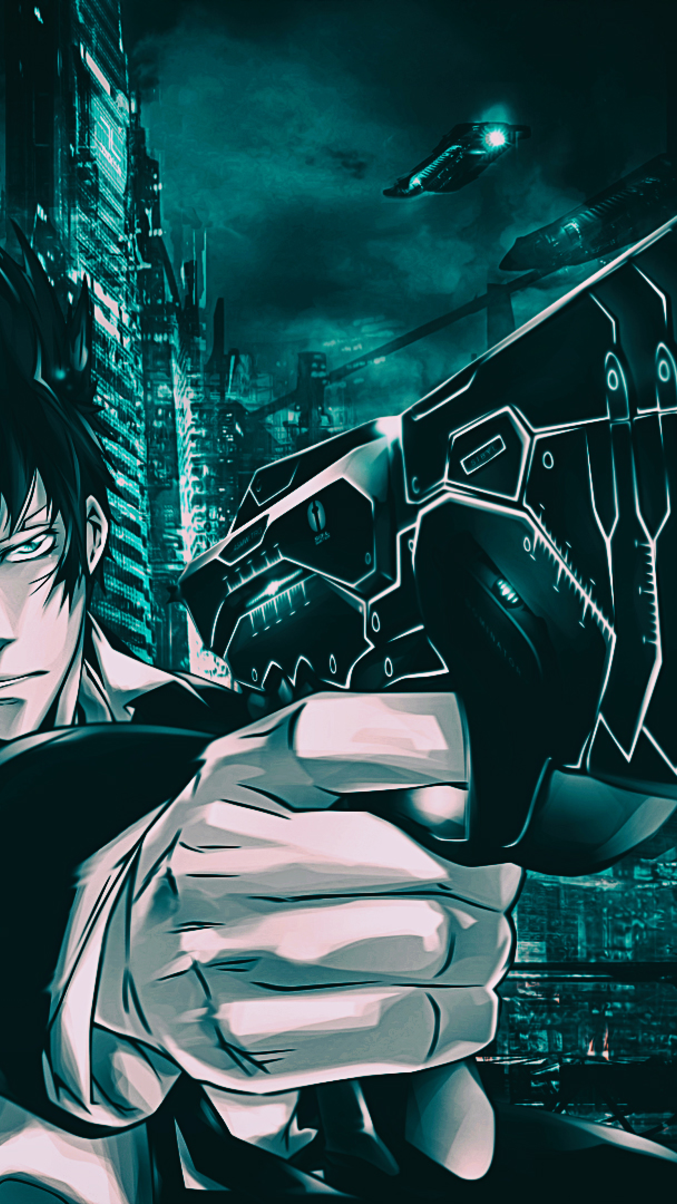 Download Shinya Kogami From Psycho Pass 2048x1152refdriverlayer
