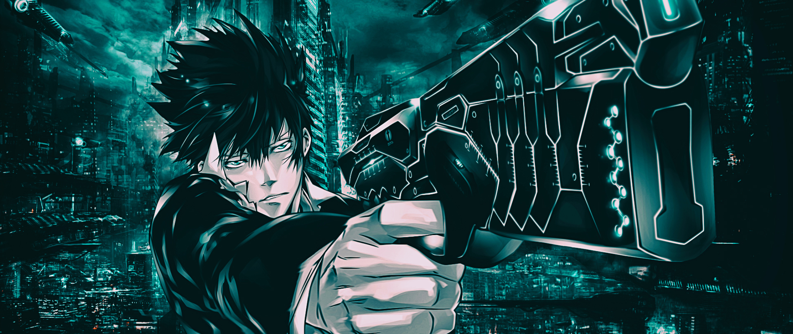 2560x1080 Shinya Kogami From Psycho Pass 2560x1080 Resolution