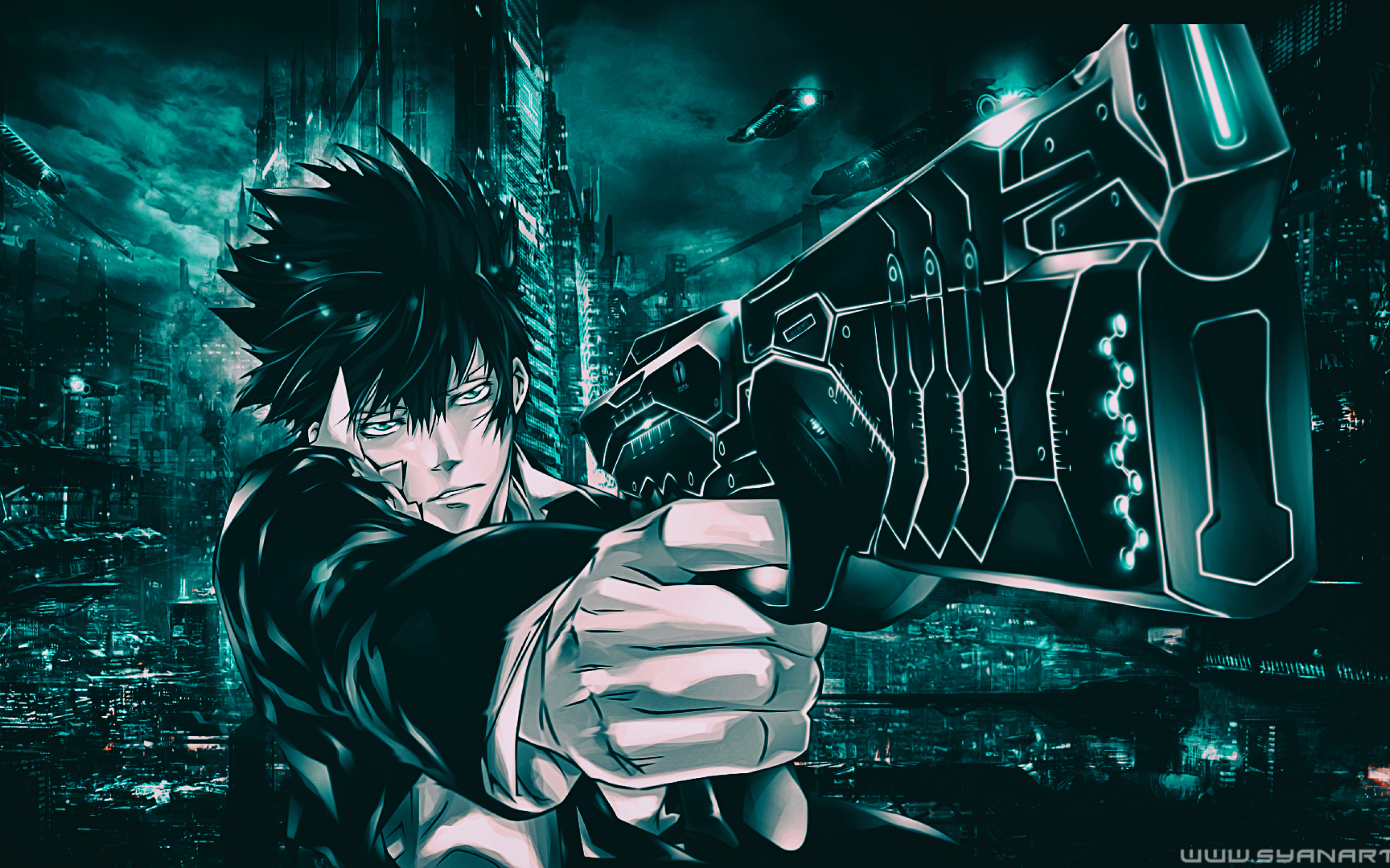2560x1600 Shinya Kogami From Psycho Pass 2560x1600 Resolution