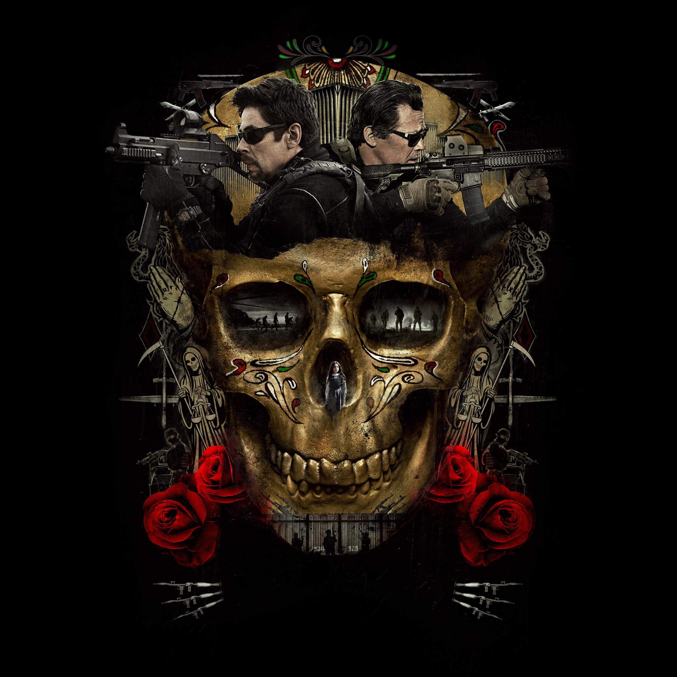 Sicario day of the soldado movie poster 2018 hd 8k wallpaper - Sicario wallpaper ...