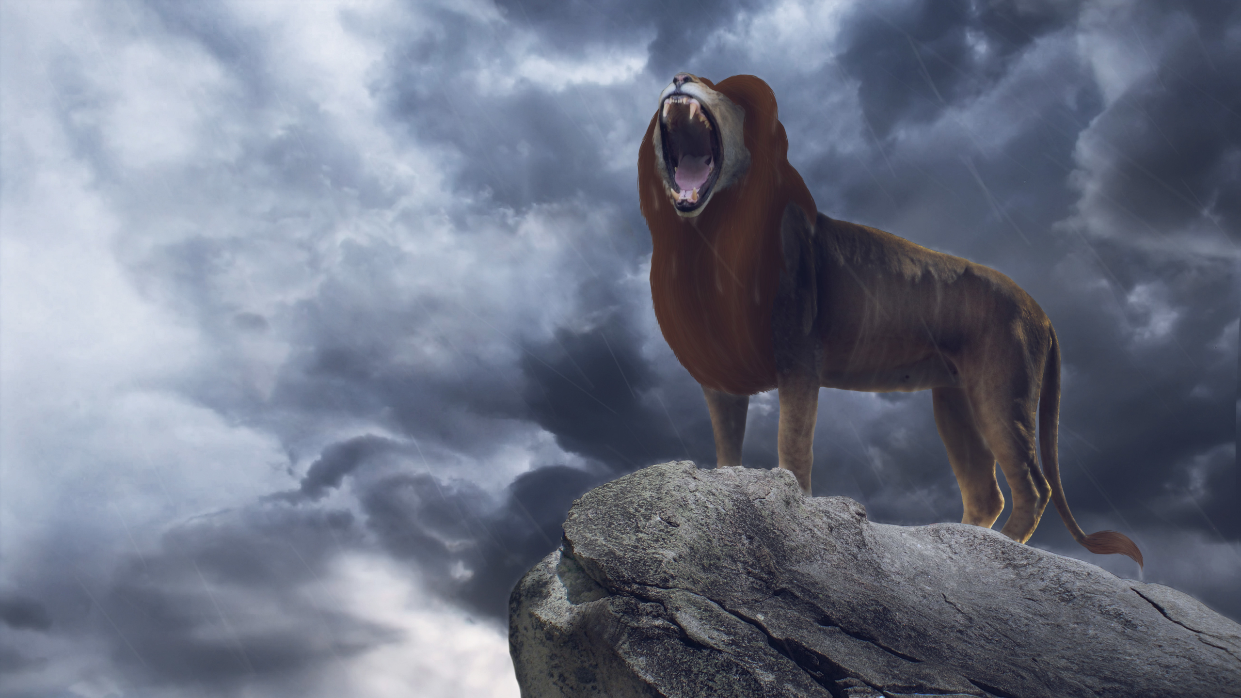 2560x1440 Simba In The Lion King 2019 Movie 1440p Resolution