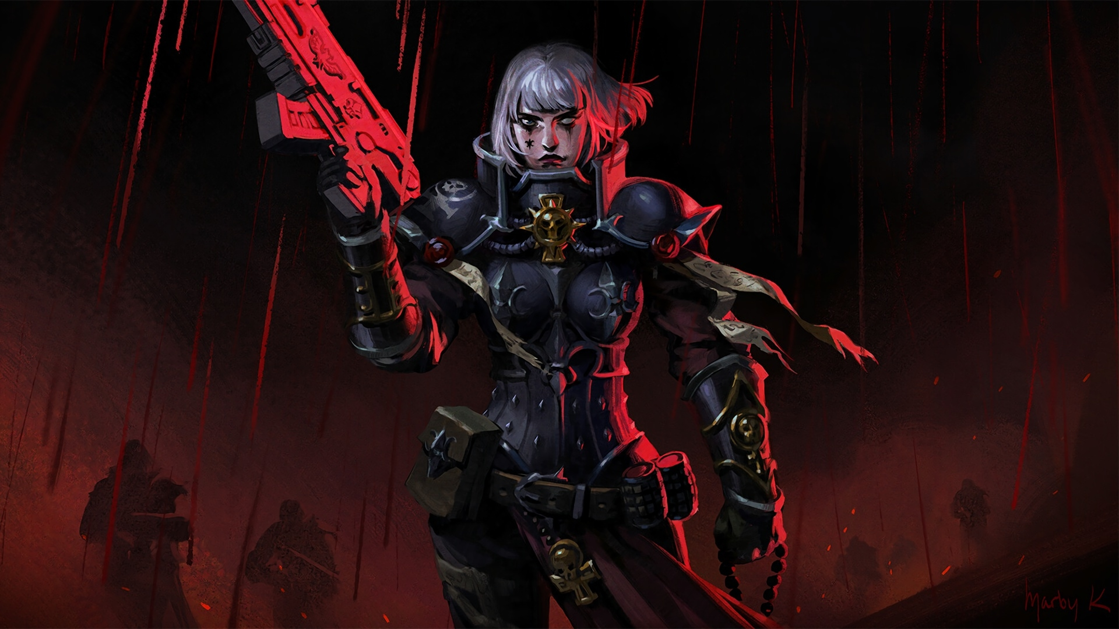 3840x2160 Sisters Of Battle Warhammer 4k Wallpaper Hd Games 4k Wallpapers Images Photos And Background