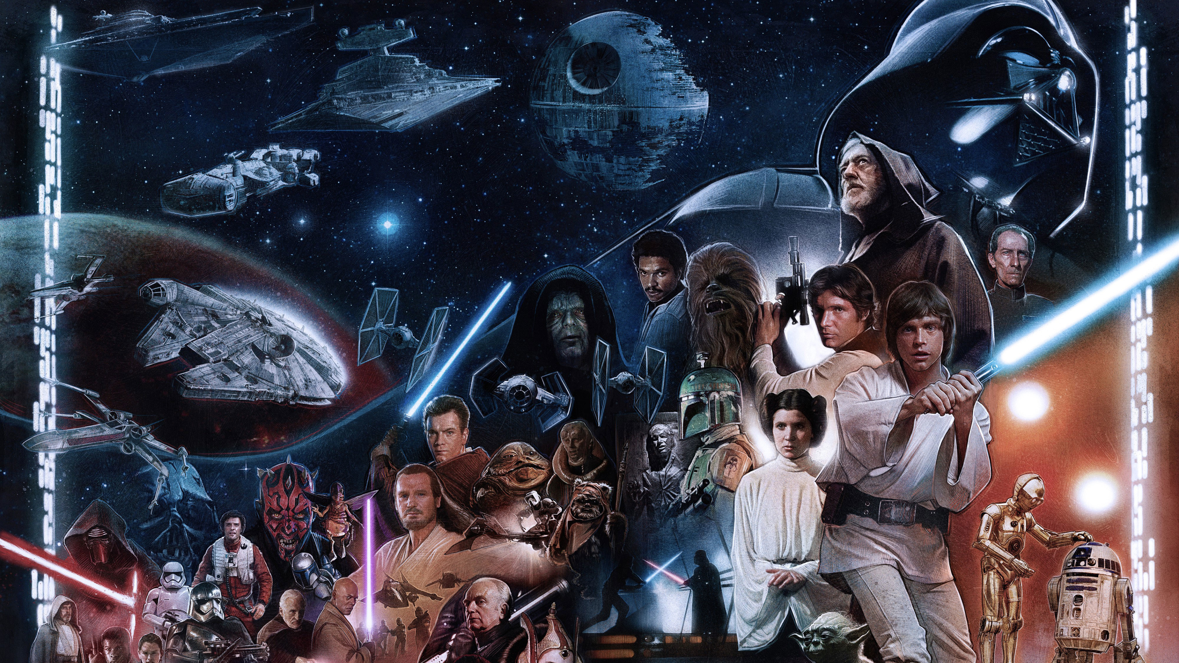 3840x2160 Skywalker Star Wars 4k Wallpaper Hd Movies 4k Wallpapers Images Photos And Background