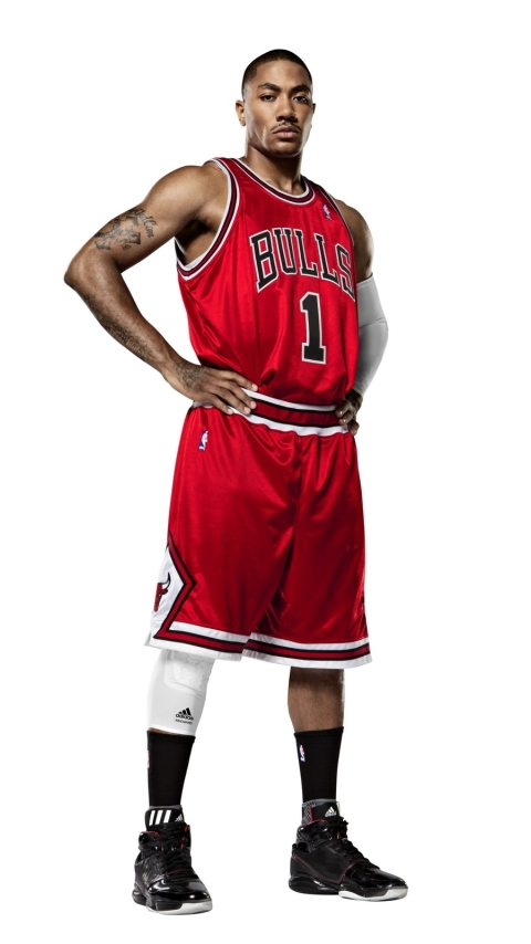480x854 slam dunk, derrick rose, nba Android One Mobile Wallpaper, HD Sports 4K Wallpapers ...