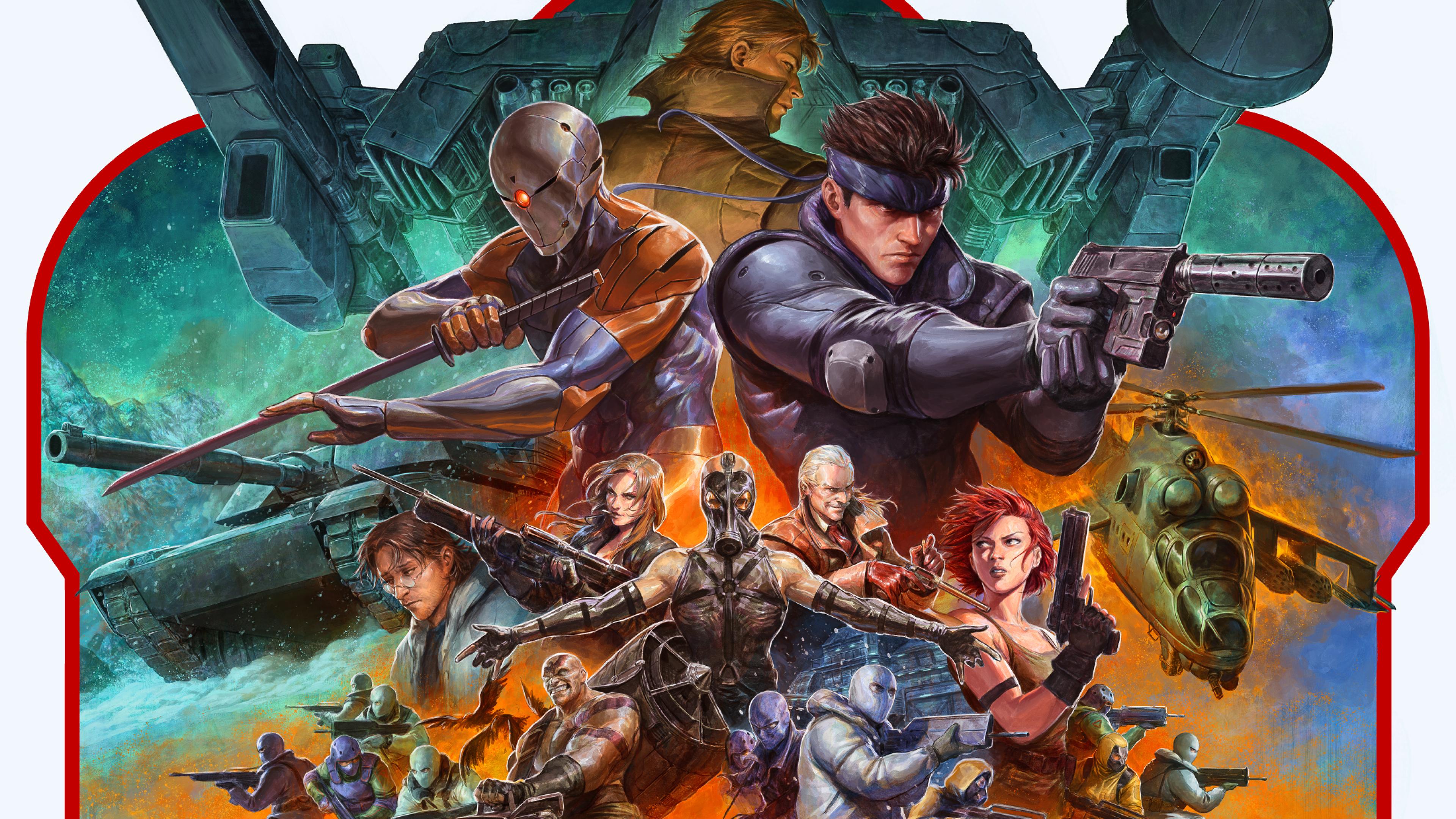 3840x2160 Solid Snake Metal Gear Solid 4K Wallpaper, HD ...