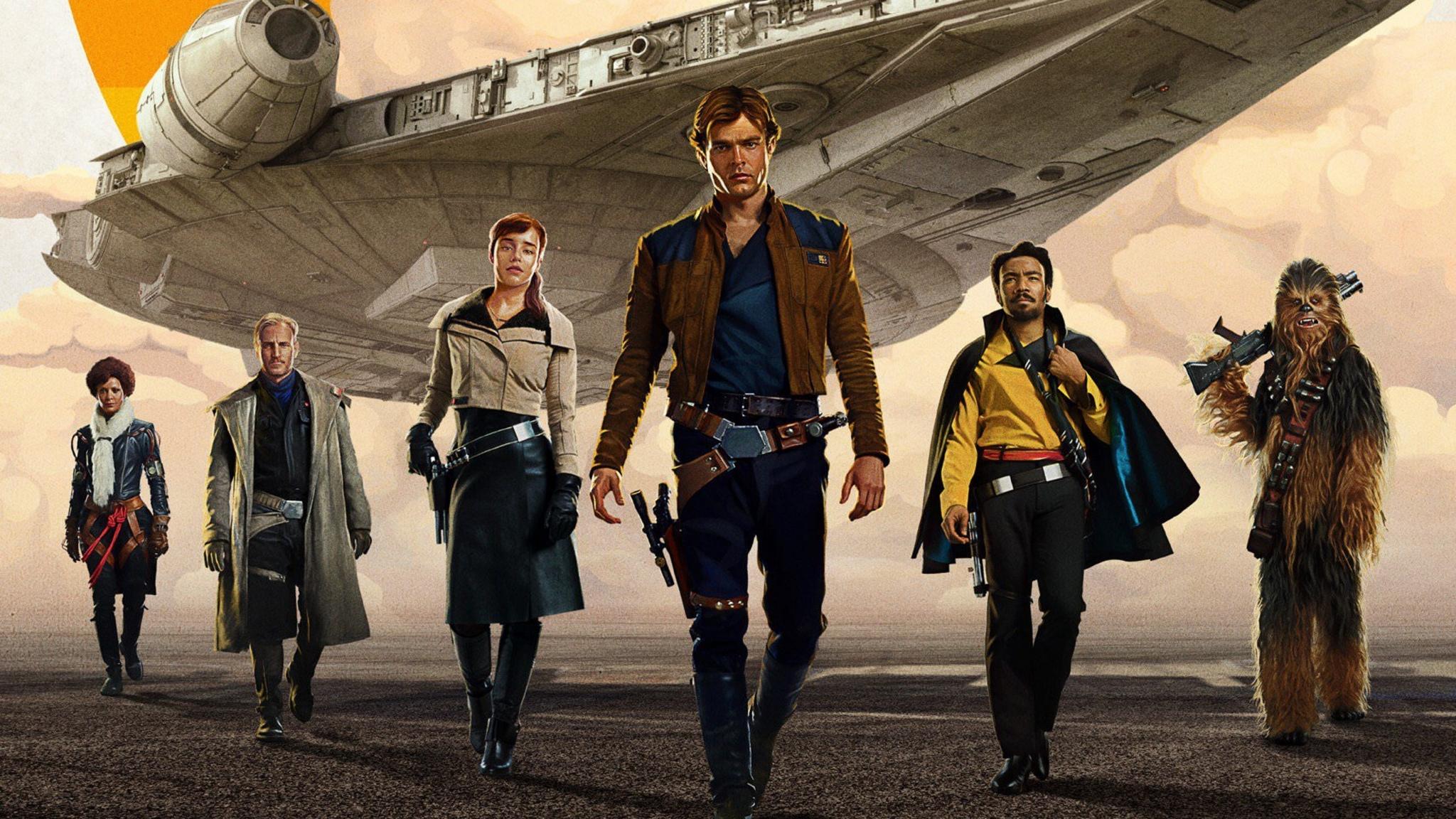 Solo A Star Wars Story Movie Hd 4k Wallpaper