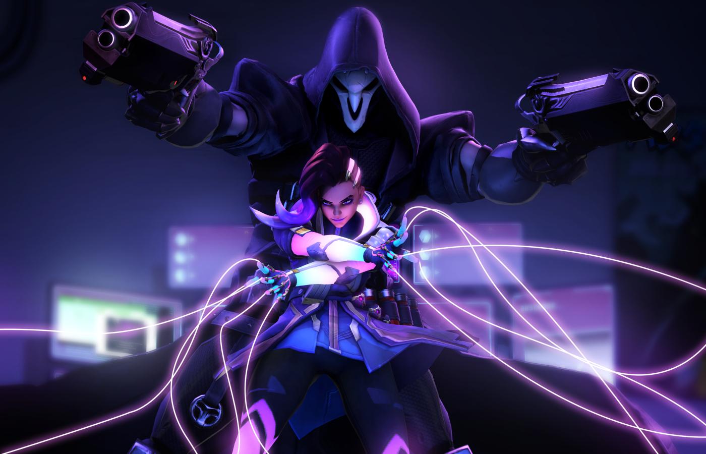 1400x900 Sombra Reaper Overwatch 4k 1400x900 Resolution ...