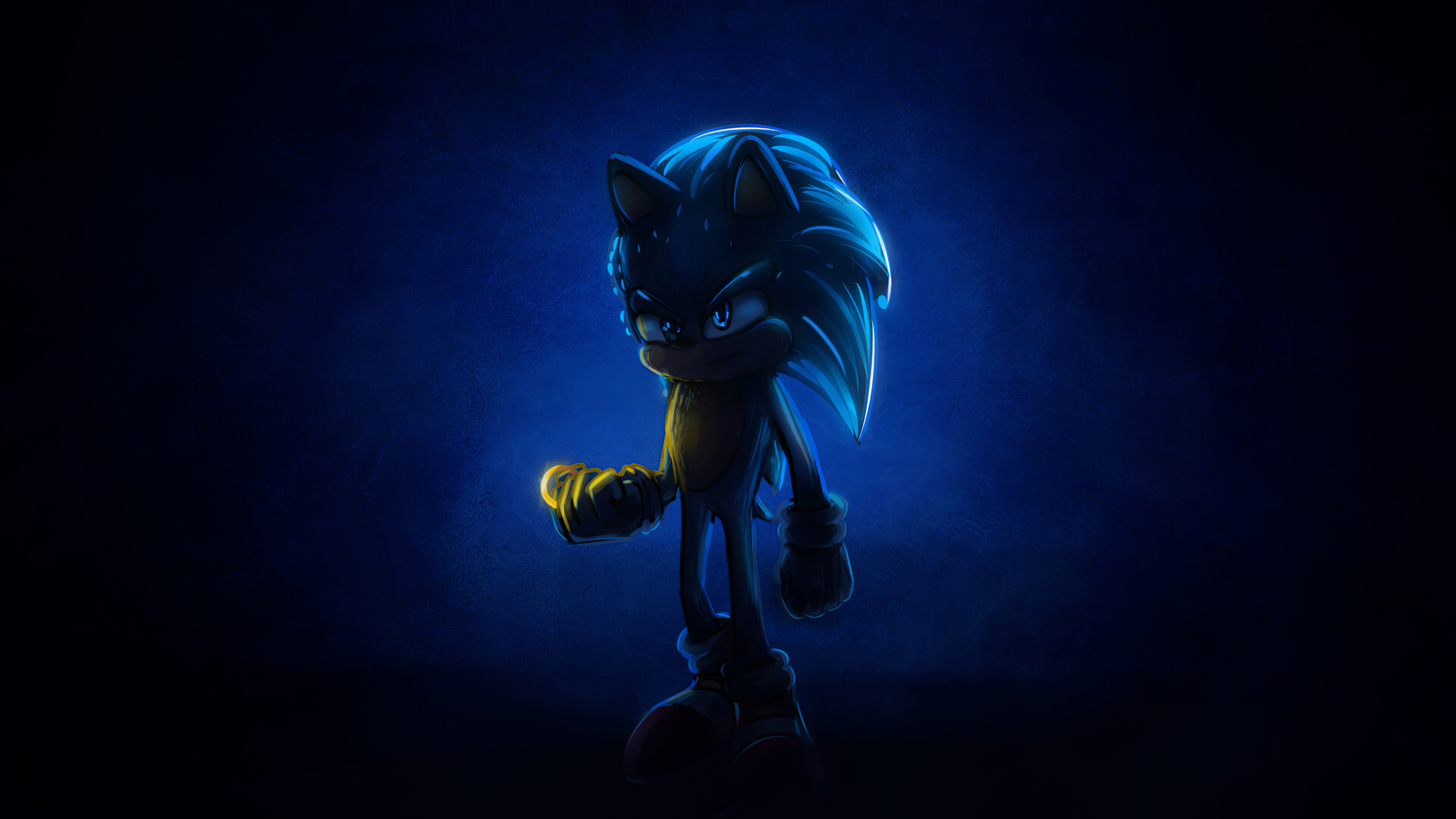 Sonic 2020 4k Artwork Wallpaper Hd Movies 4k Wallpapers Images Photos And Background