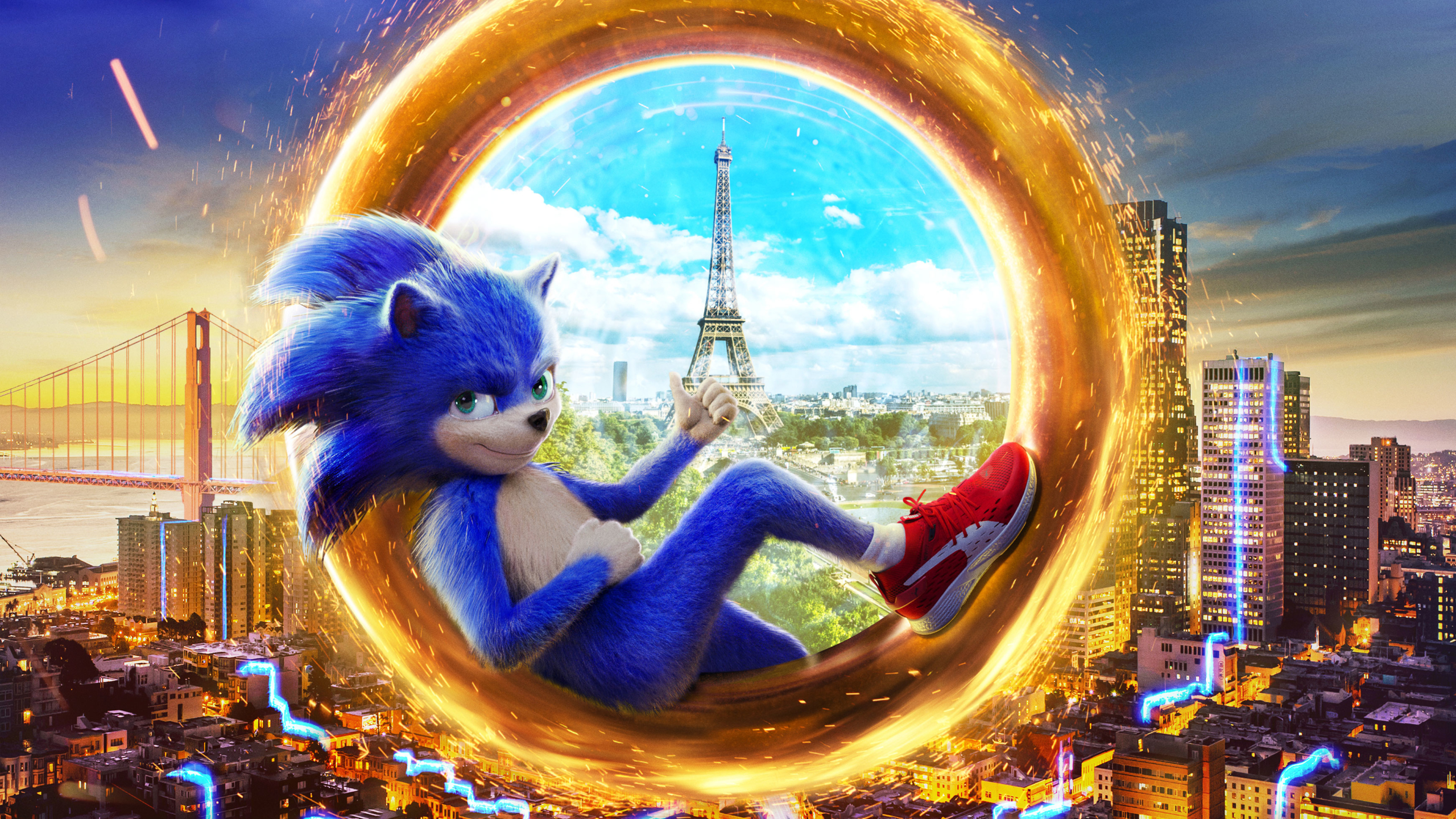 2560x1440 Sonic The Hedgehog 2019 Movie 1440p Resolution Wallpaper Hd Movies 4k Wallpapers Images Photos And Background