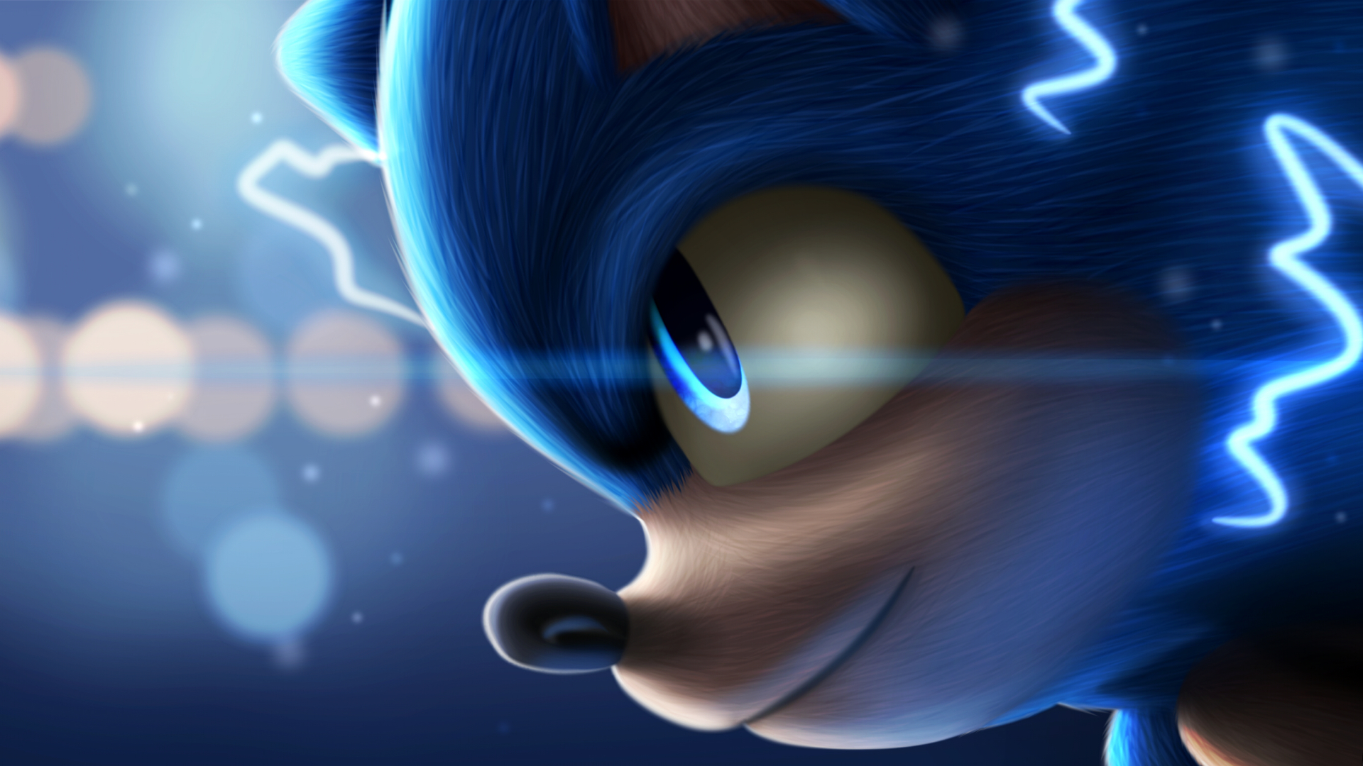 1920x1080 Sonic The Hedgehog Art 1080p Laptop Full Hd Wallpaper Hd Movies 4k Wallpapers Images Photos And Background
