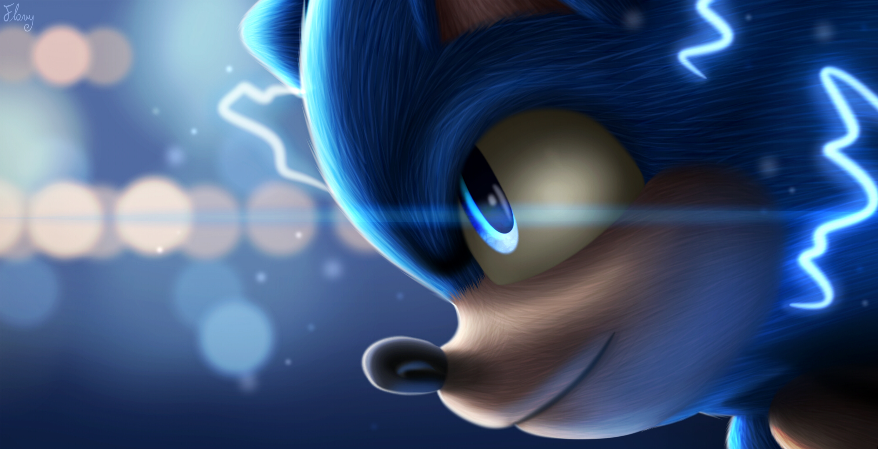 Sonic The Hedgehog Art Wallpaper Hd Movies 4k Wallpapers Images Photos And Background