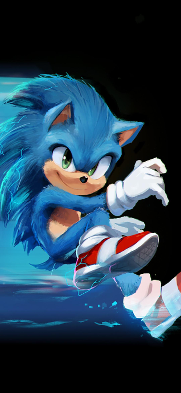 1080x2340 Sonic The Hedgehog Artwork 1080x2340 Resolution