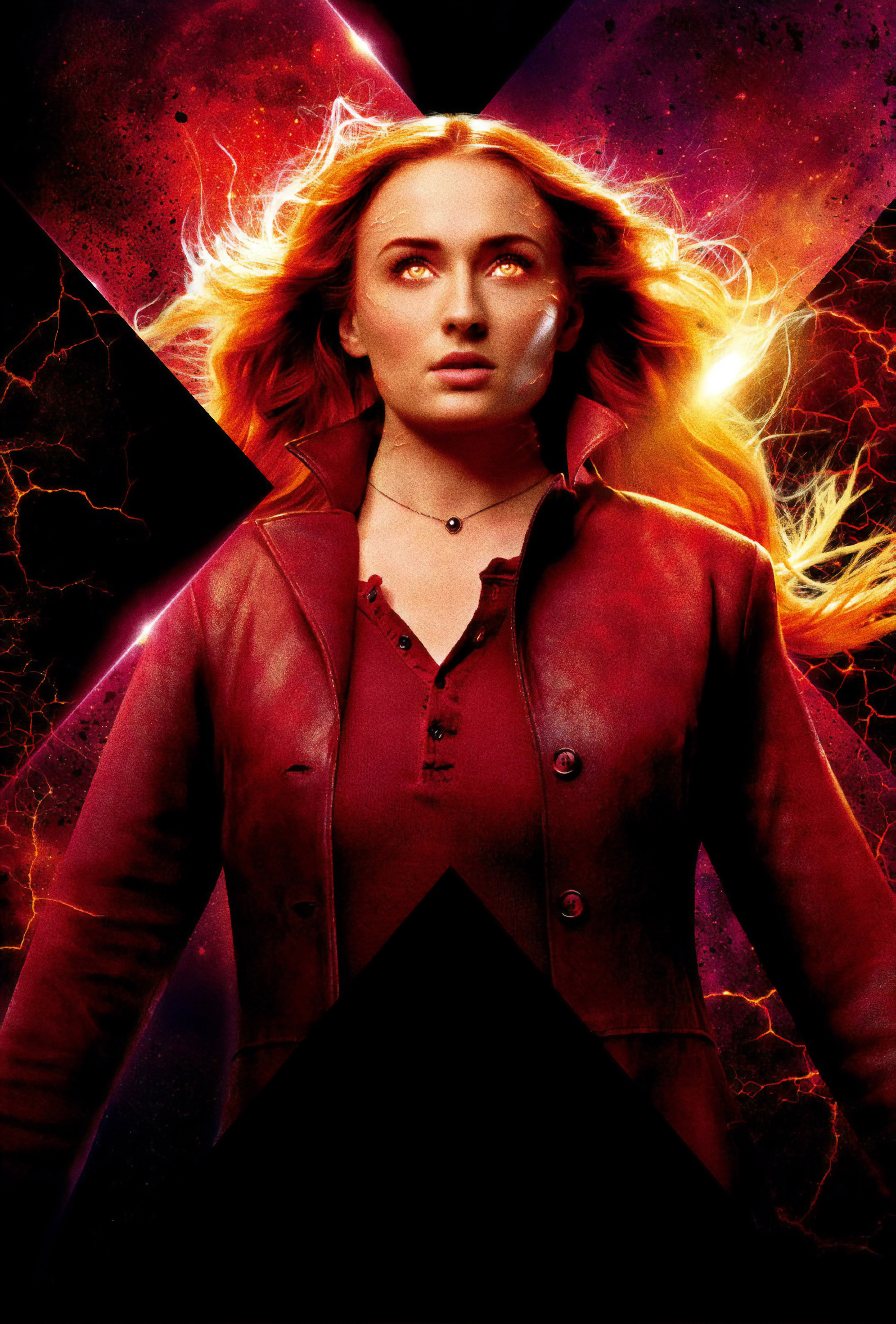 Sophie Turner Dark Phoenix 2019 Movie Wallpaper Hd Movies