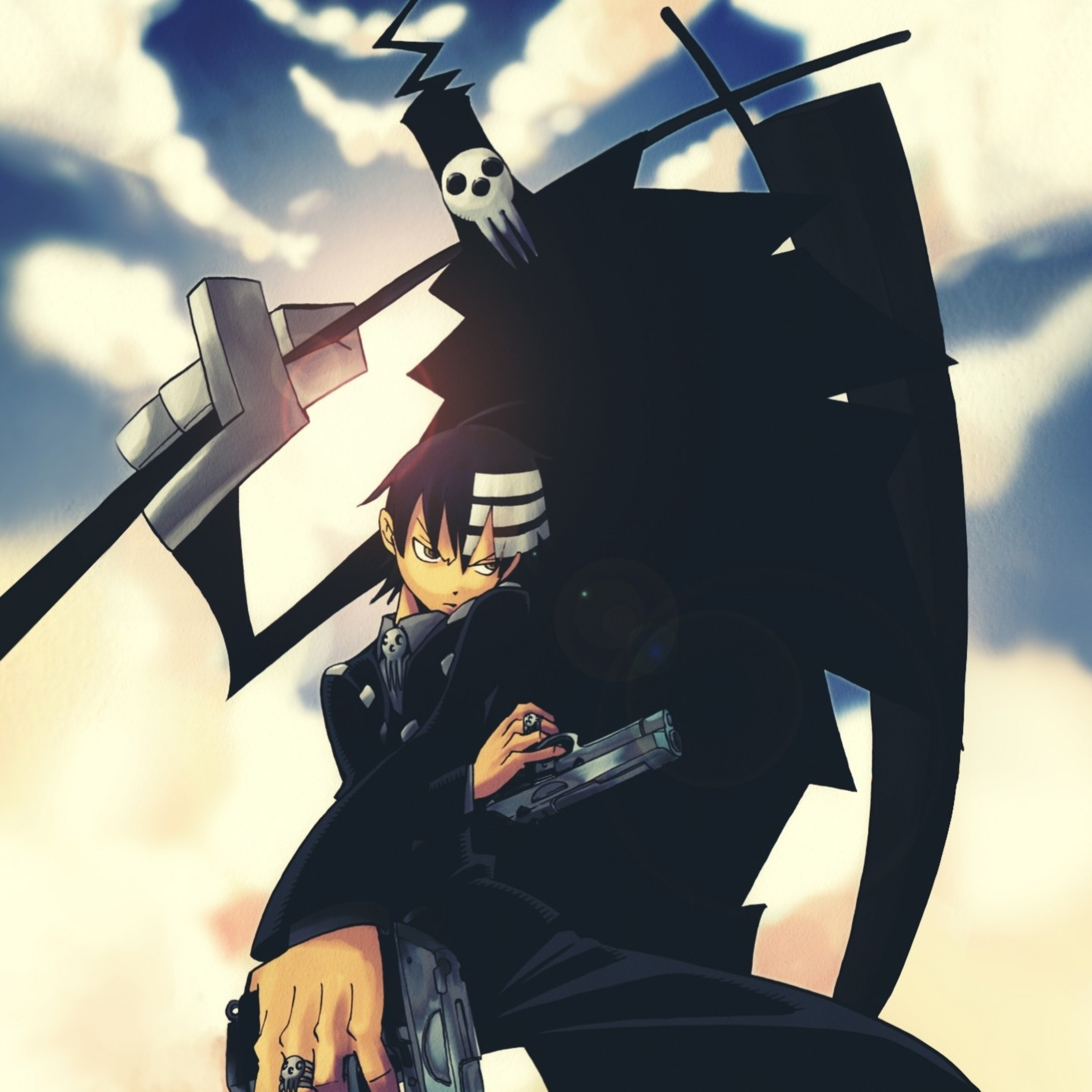 2932x2932 Soul Eater Death The Kid Anime Ipad Pro Retina Display Wallpaper Hd Anime 4k Wallpapers Images Photos And Background